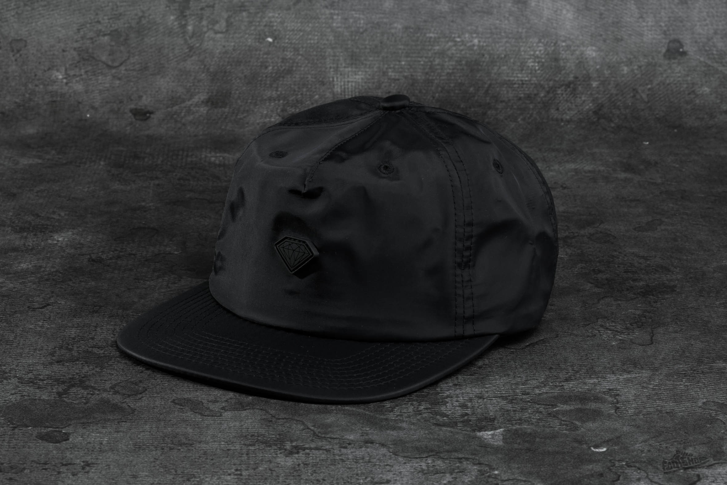 Diamond Supply Co. Yacht Clipback Black - 9358