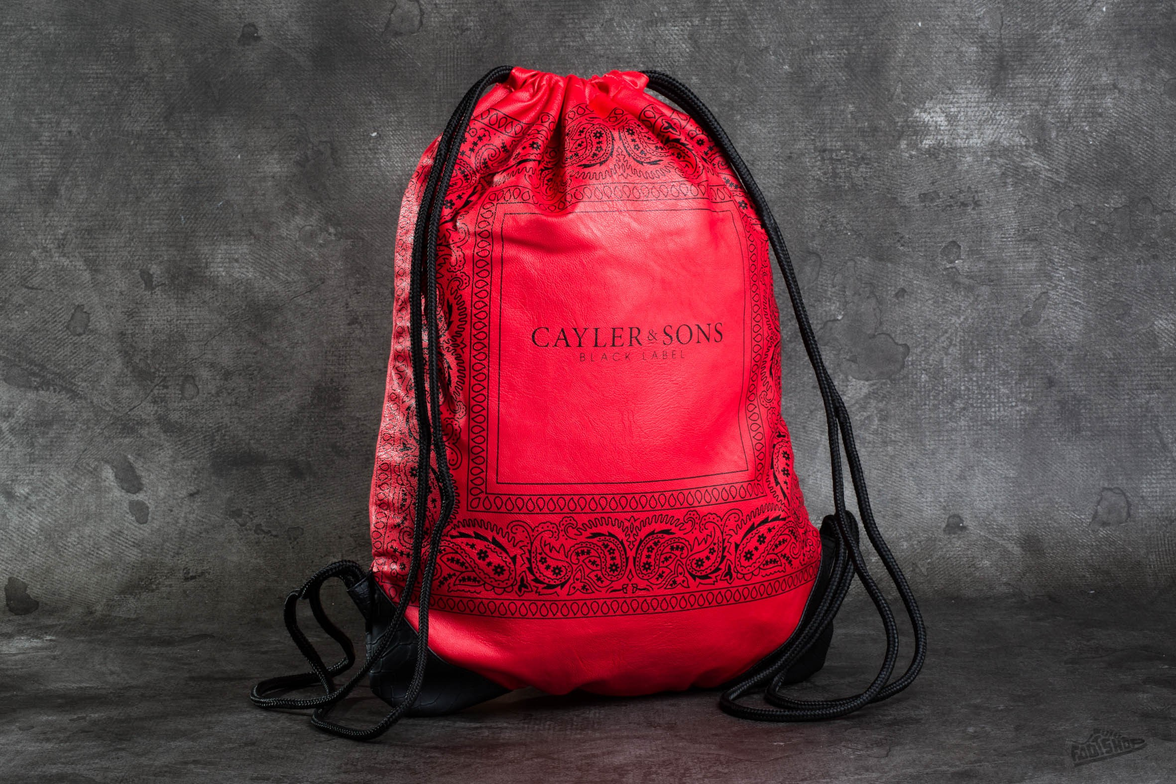 Cayler & Sons BL Paiz Gym Bag Red/ Black - 8423