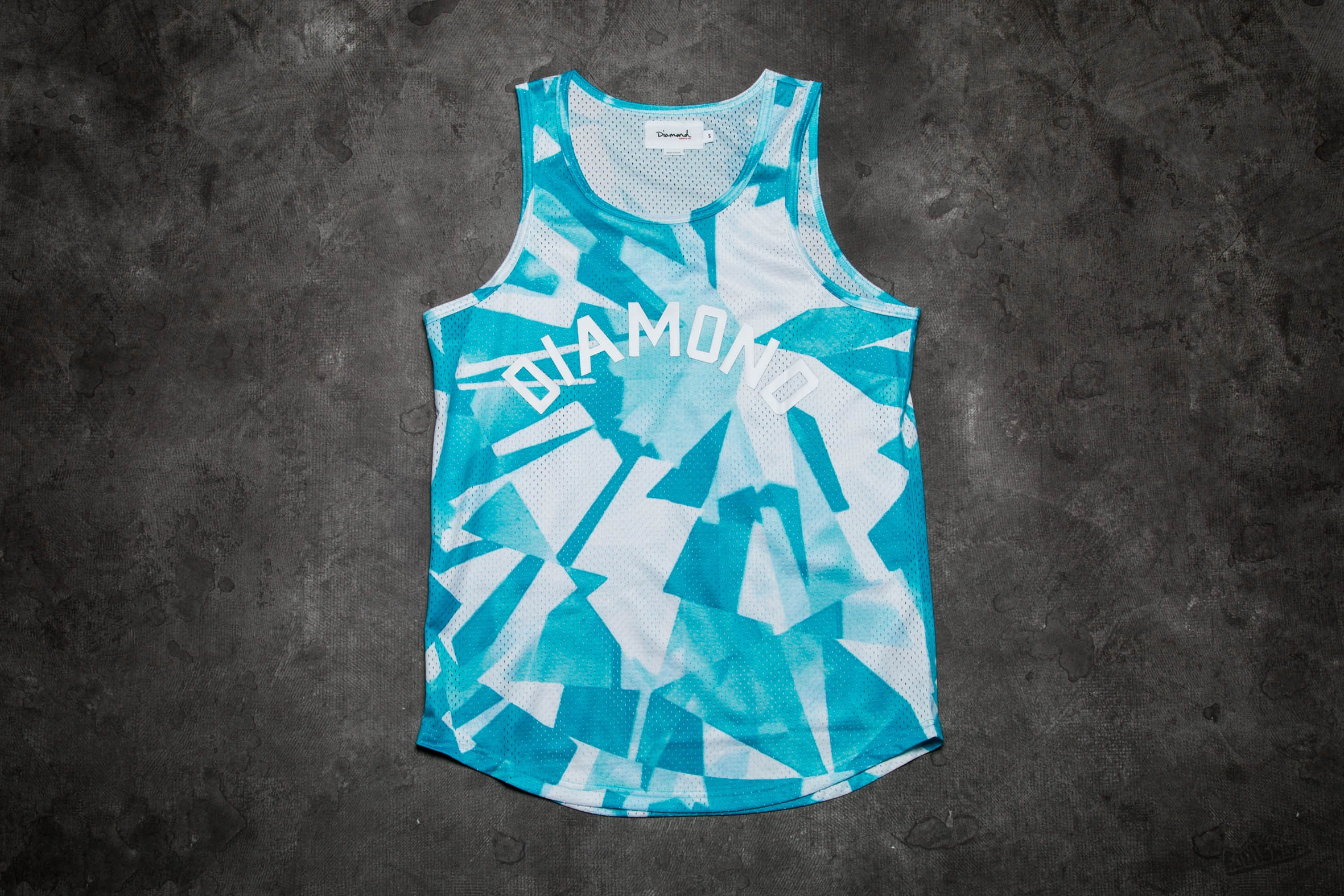 Diamond Supply Co. Simplicity Basketball Jersey Blue - 9381