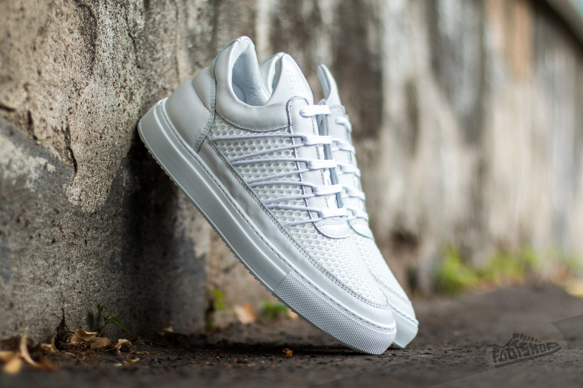 Filling Pieces Low Top Cane White - 9549