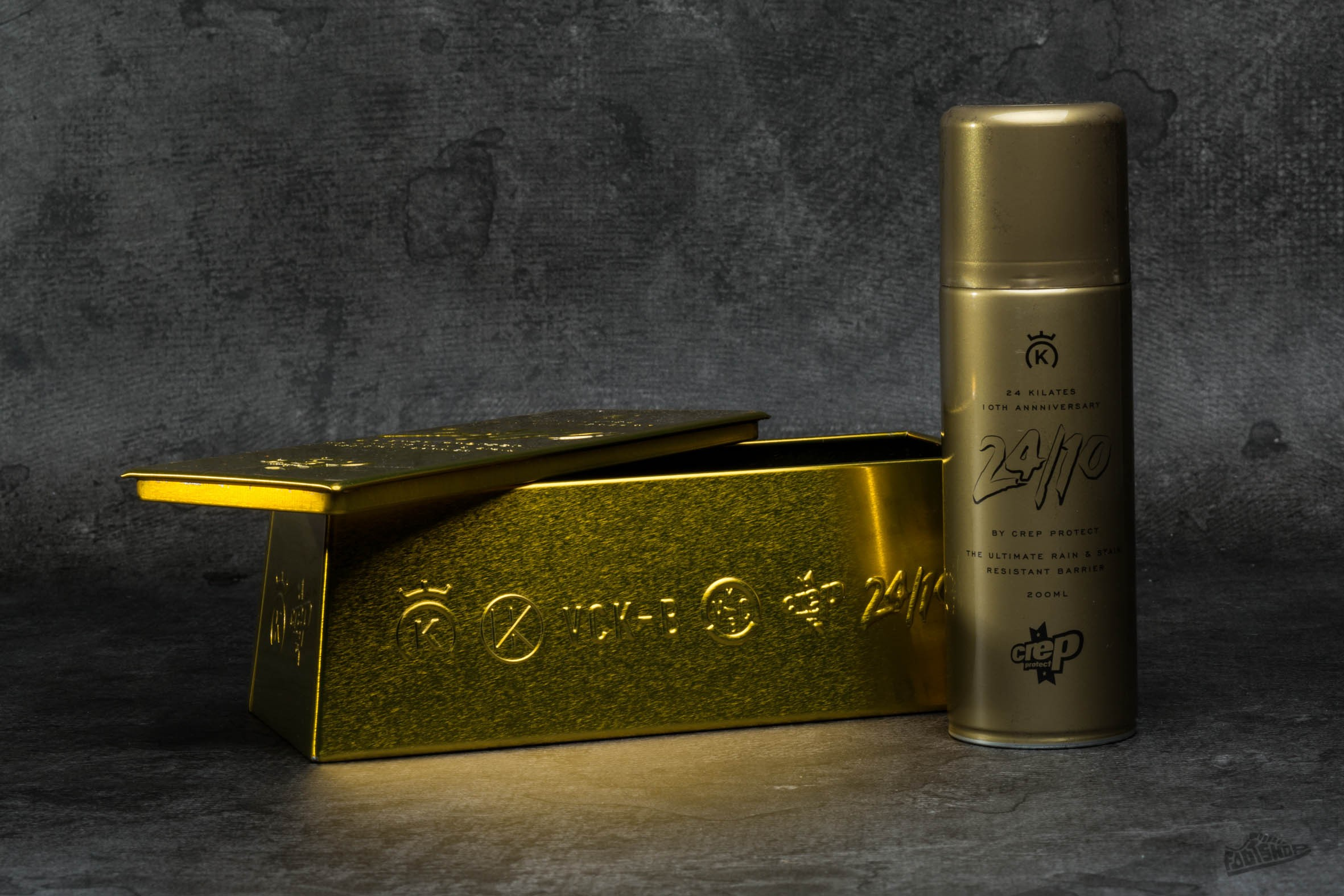 Crep Protect x 24 Kilates '24/10 Gold Bar' Collaboration - 8990