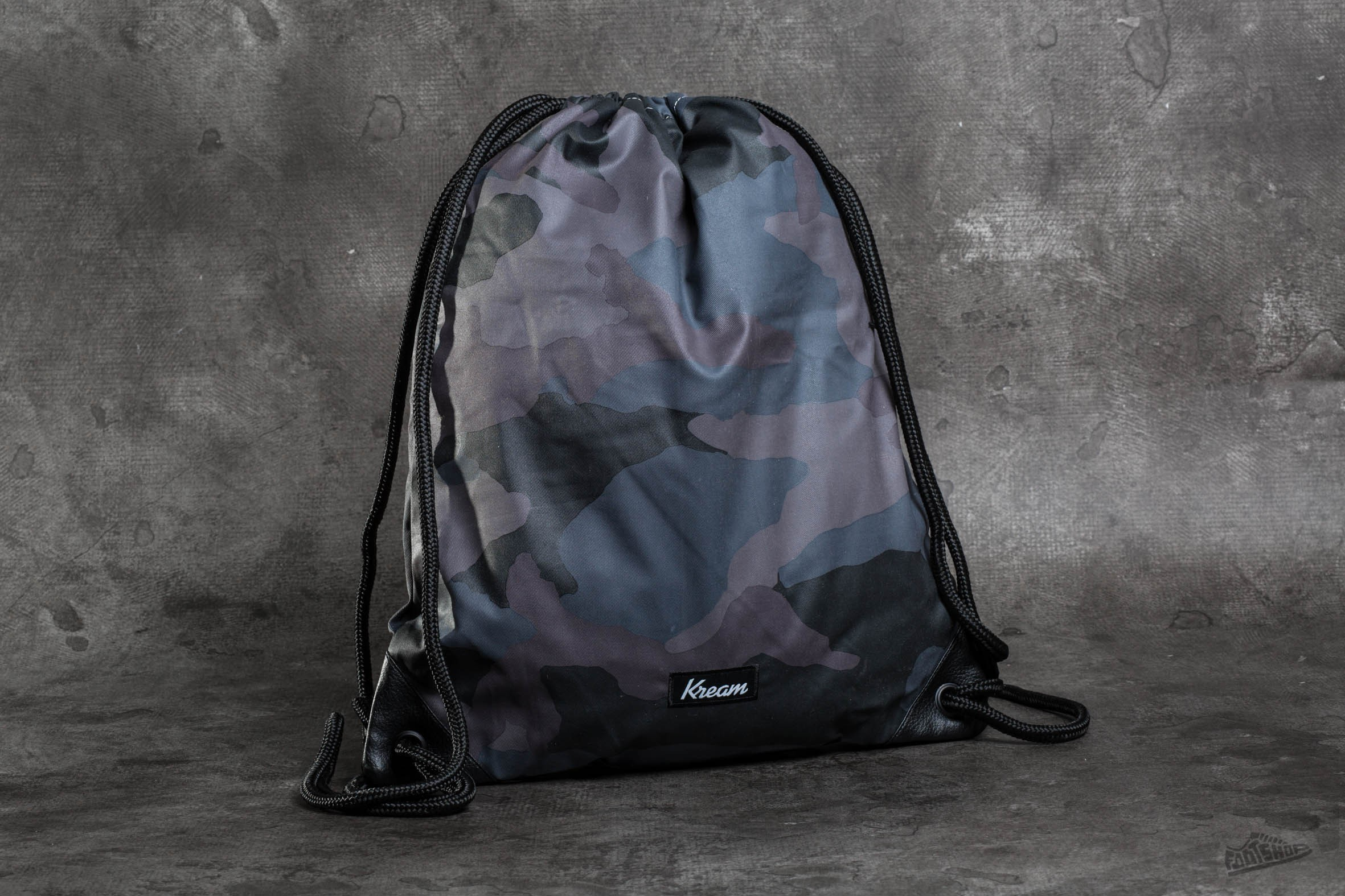 Kream Ye Camo Bag Black/ Multi Colors - 9870