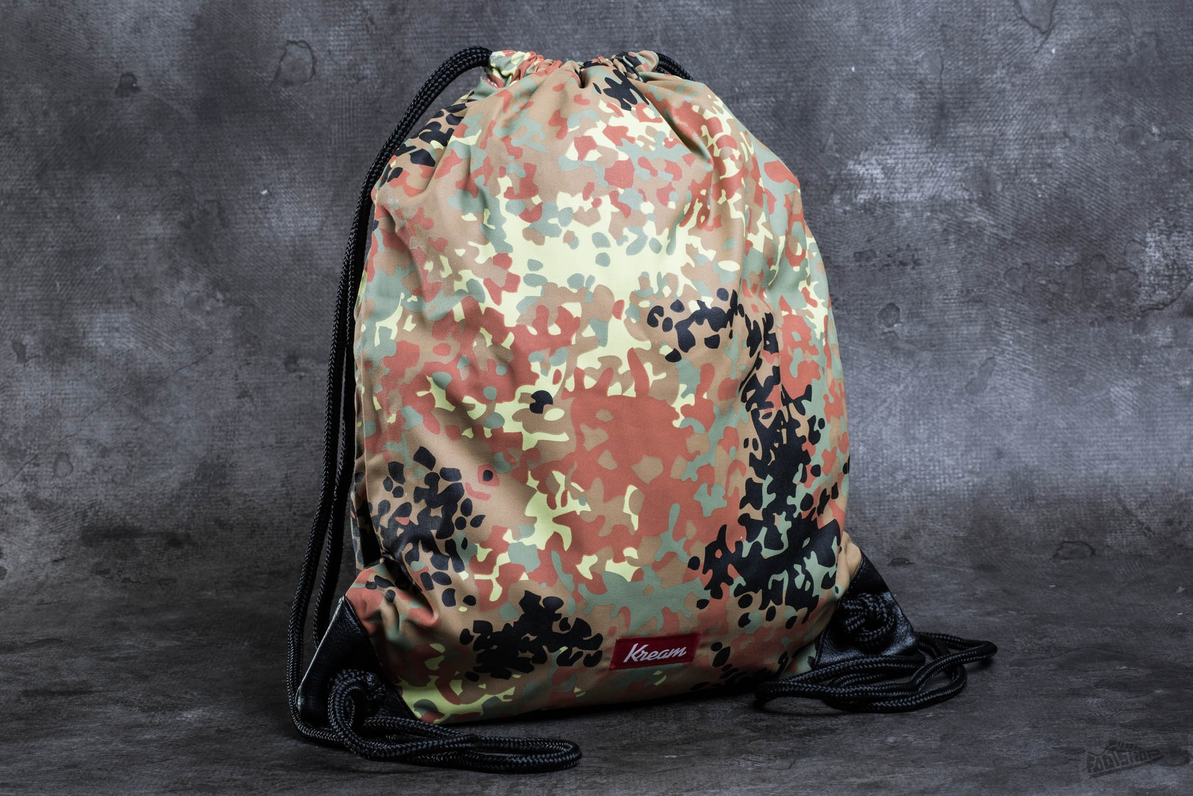 Kream Duck Down Bag Black/ Multi Colors - 9875
