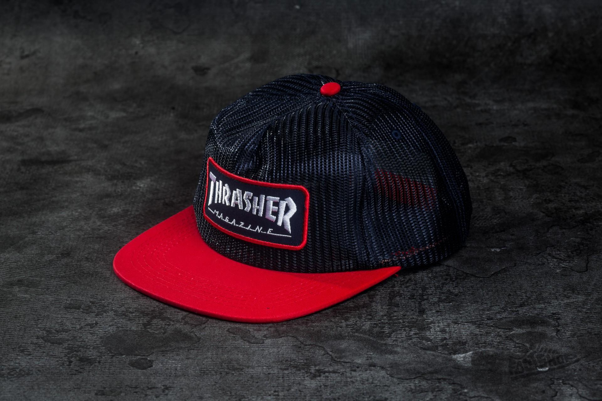 Thrasher Magazine Logo Mesh Blue/ Red - 9753
