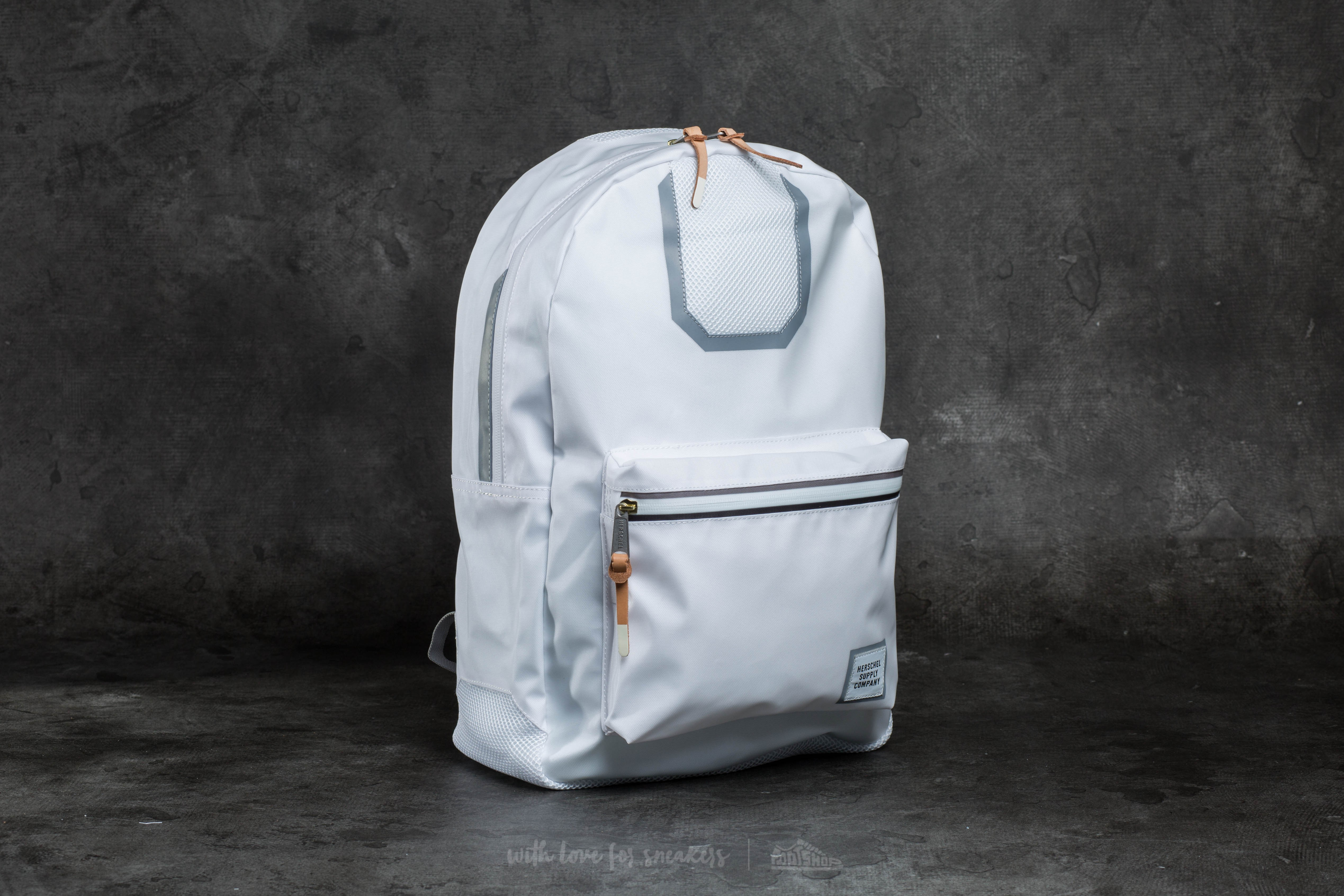 Herschel Supply Co. Settlement Backpack White Mesh/ Grey - 10085