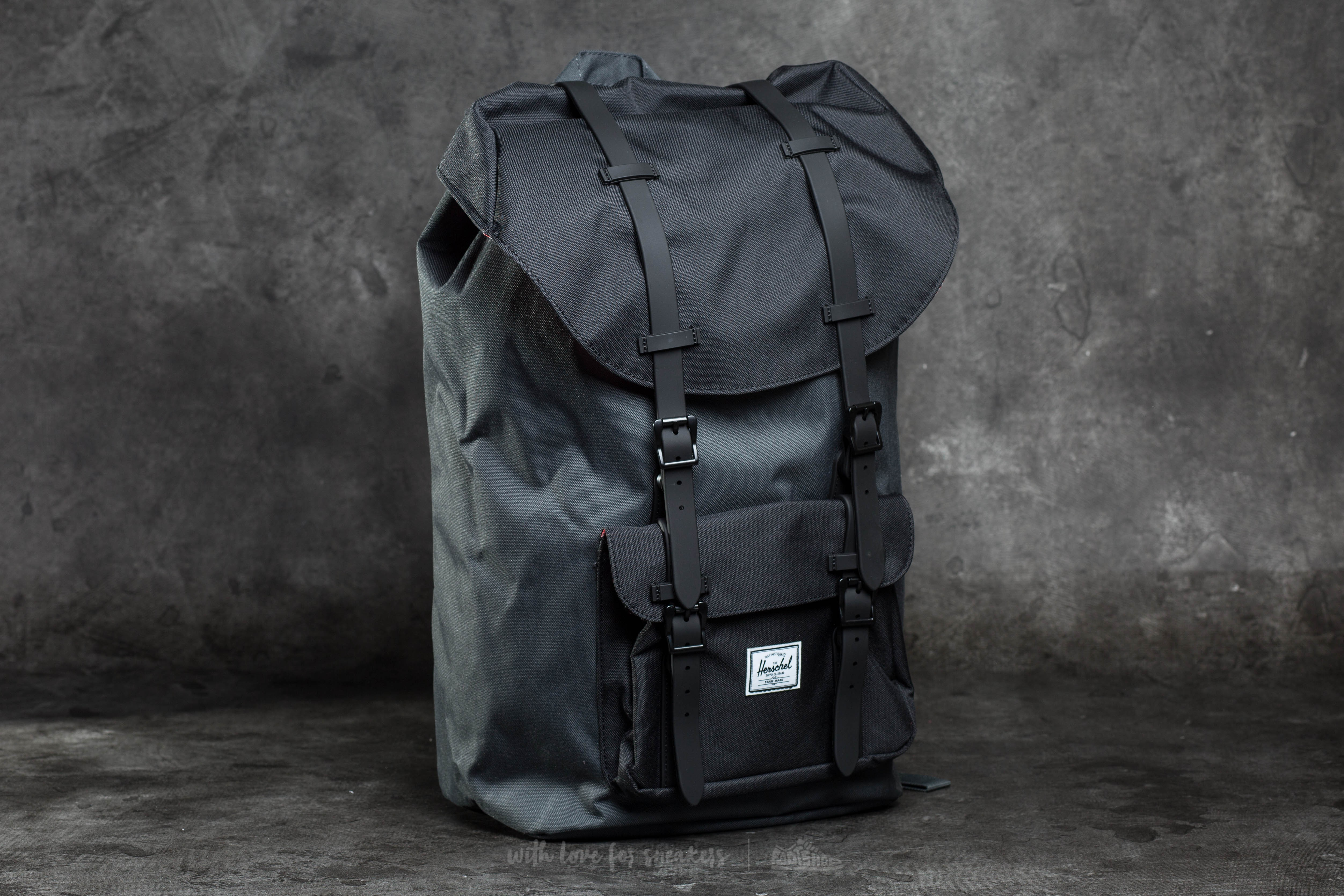 Herschel Supply Co. Little America Backpack Dark Shadow/ Black/ Black Rubber - 10045