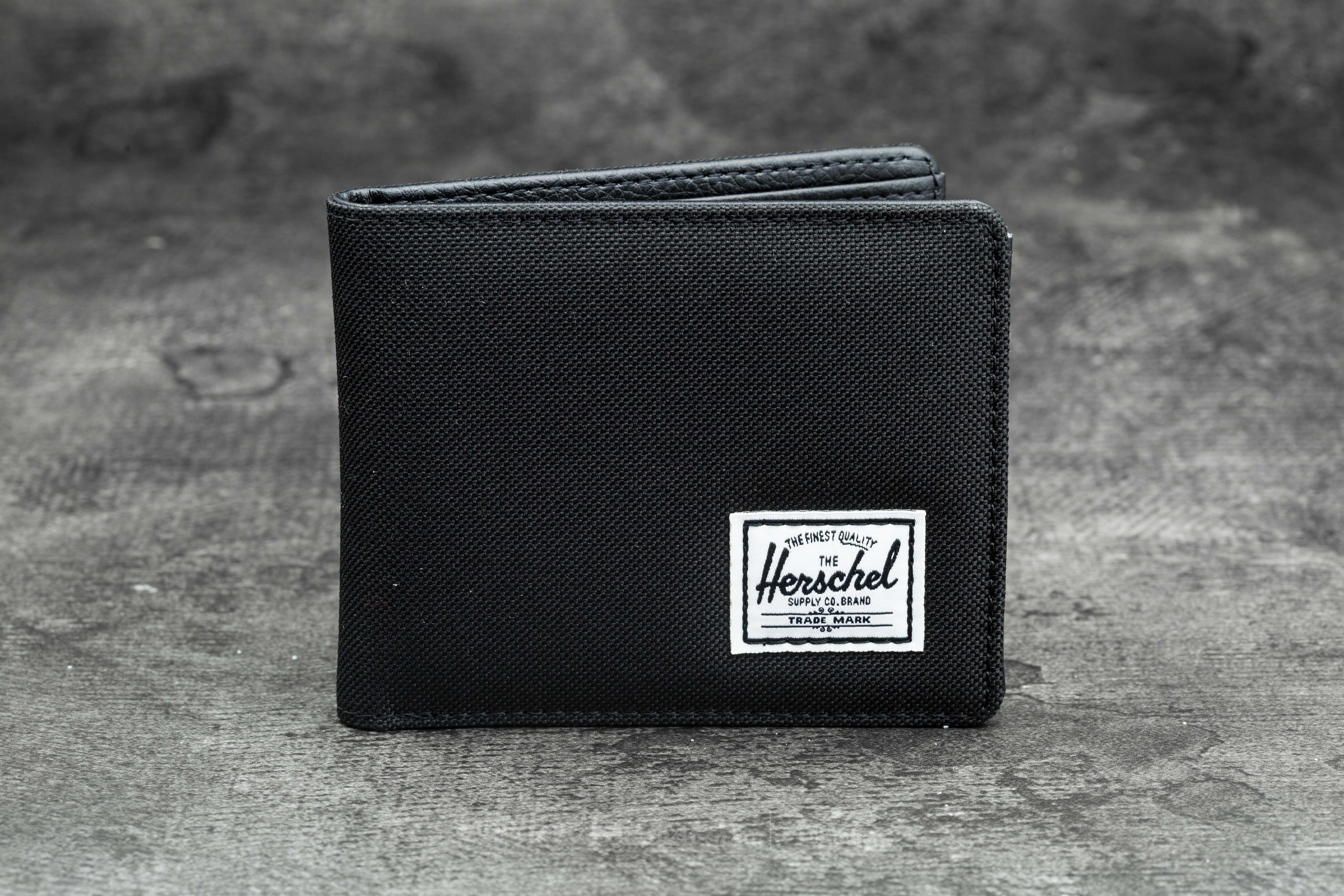 Herschel Supply Co. Hank Wallet Black/ Black Synthetic Leather - 10079