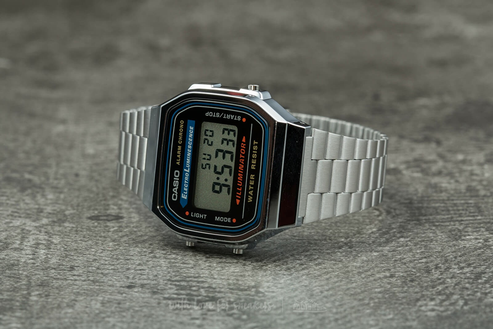 Casio A168WA-1YES Silver - 3618