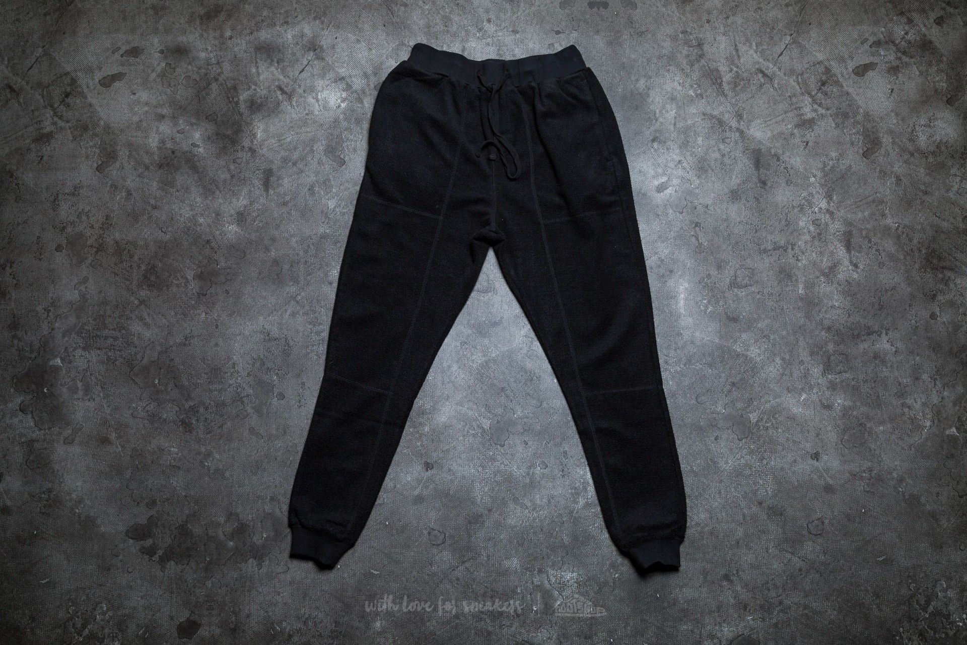 STAMPD Reverse Terry Pant Black - 10483