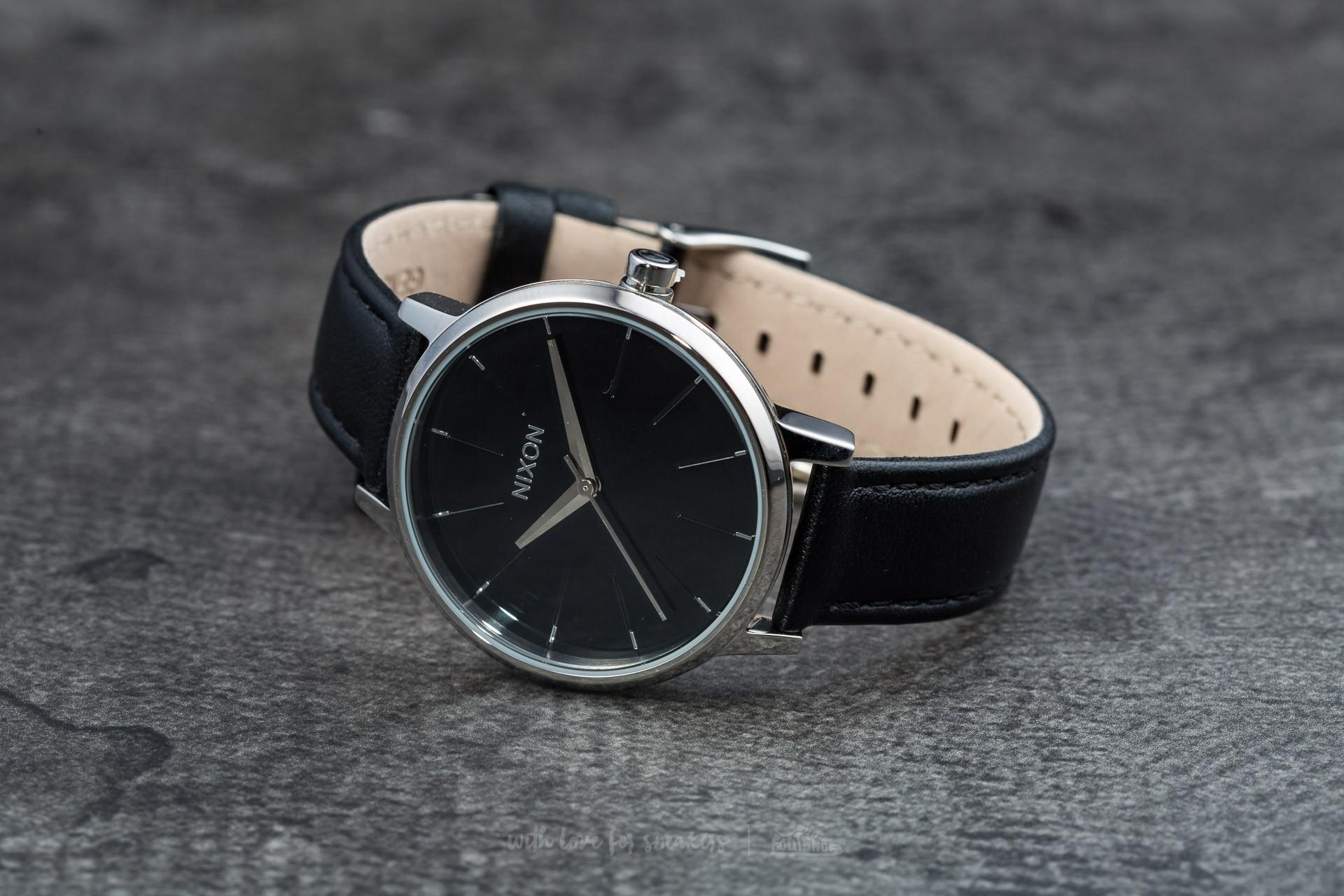 Nixon Kensington Leather Black - 5856