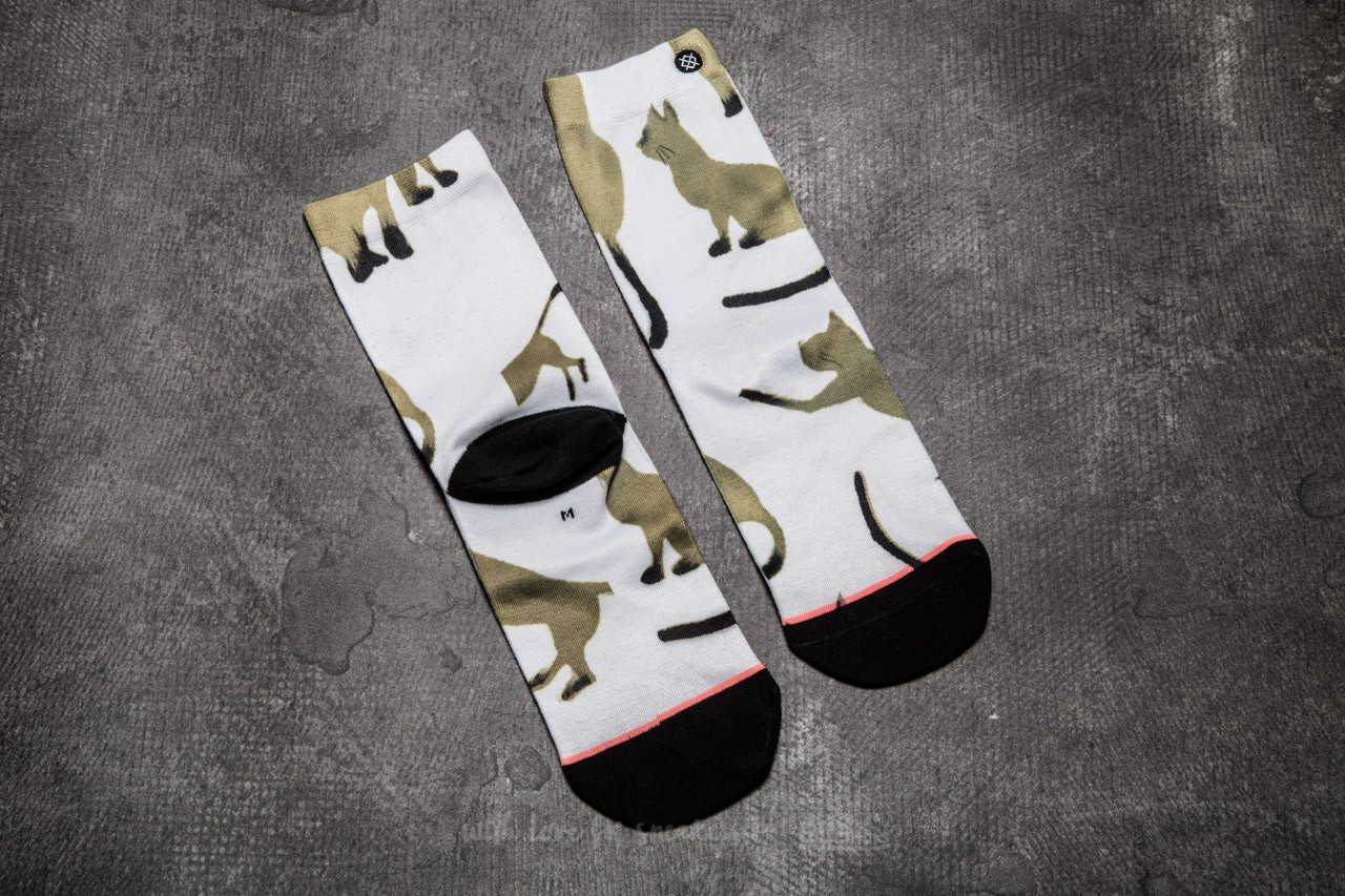 Stance Cats White - 10692