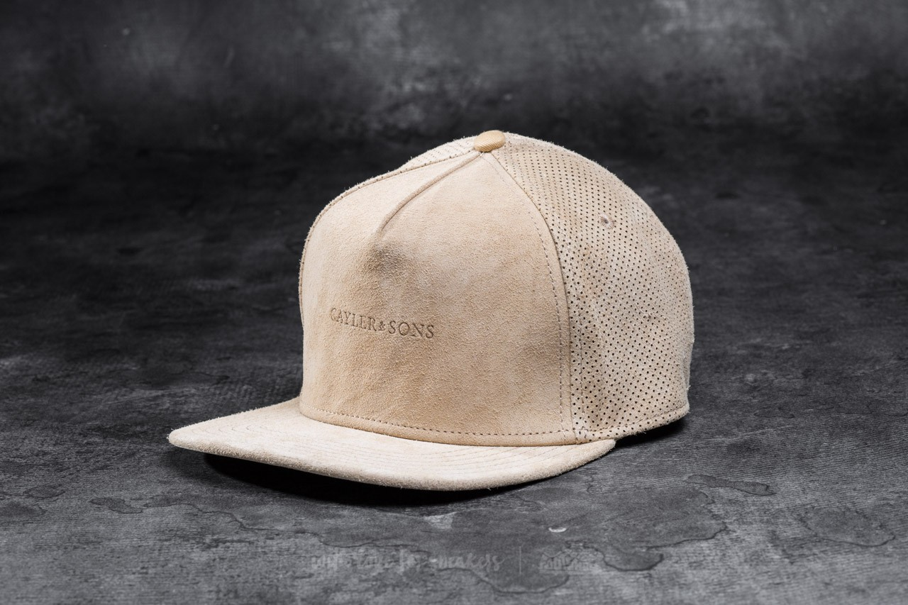 Cayler & Sons BL Apache Cap Brown Suede/ Gold - 10813