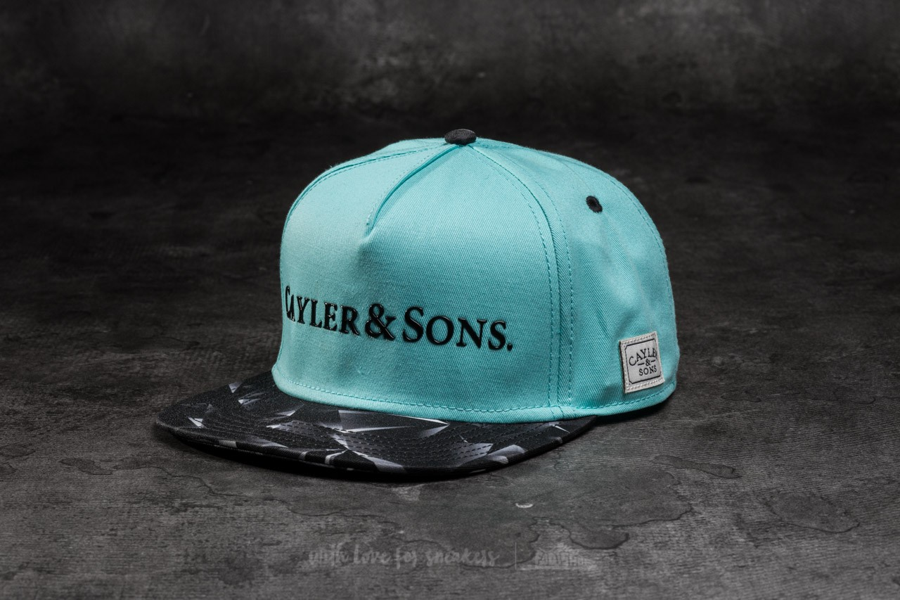 Cayler & Sons WL BK Rocks Cap Mint/ Black - 10807