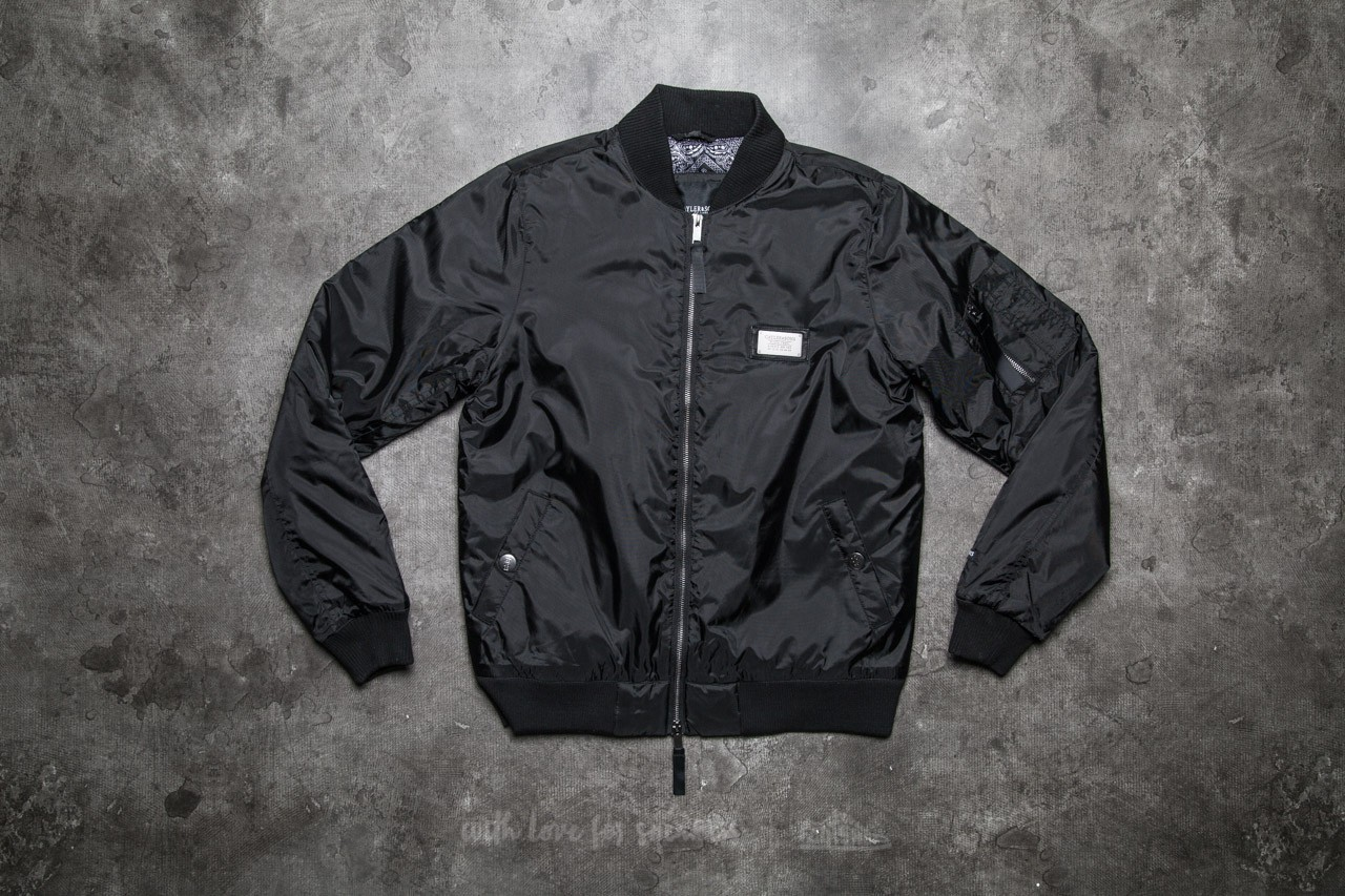 Cayler & Sons BL Paiz Flight Jacket Black/ White - 10762