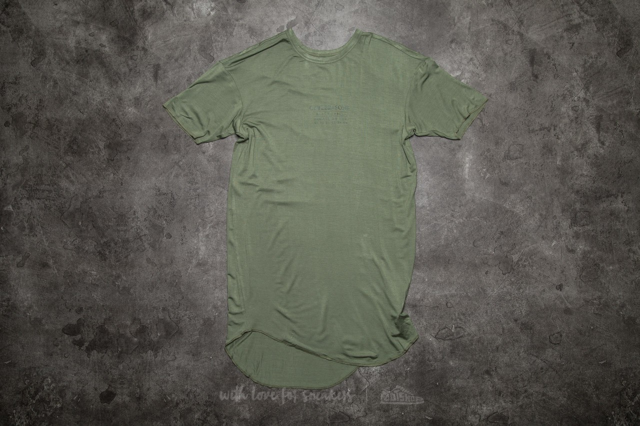 Cayler & Sons BL Drop Scallop Tee Olive/ Black - 10798