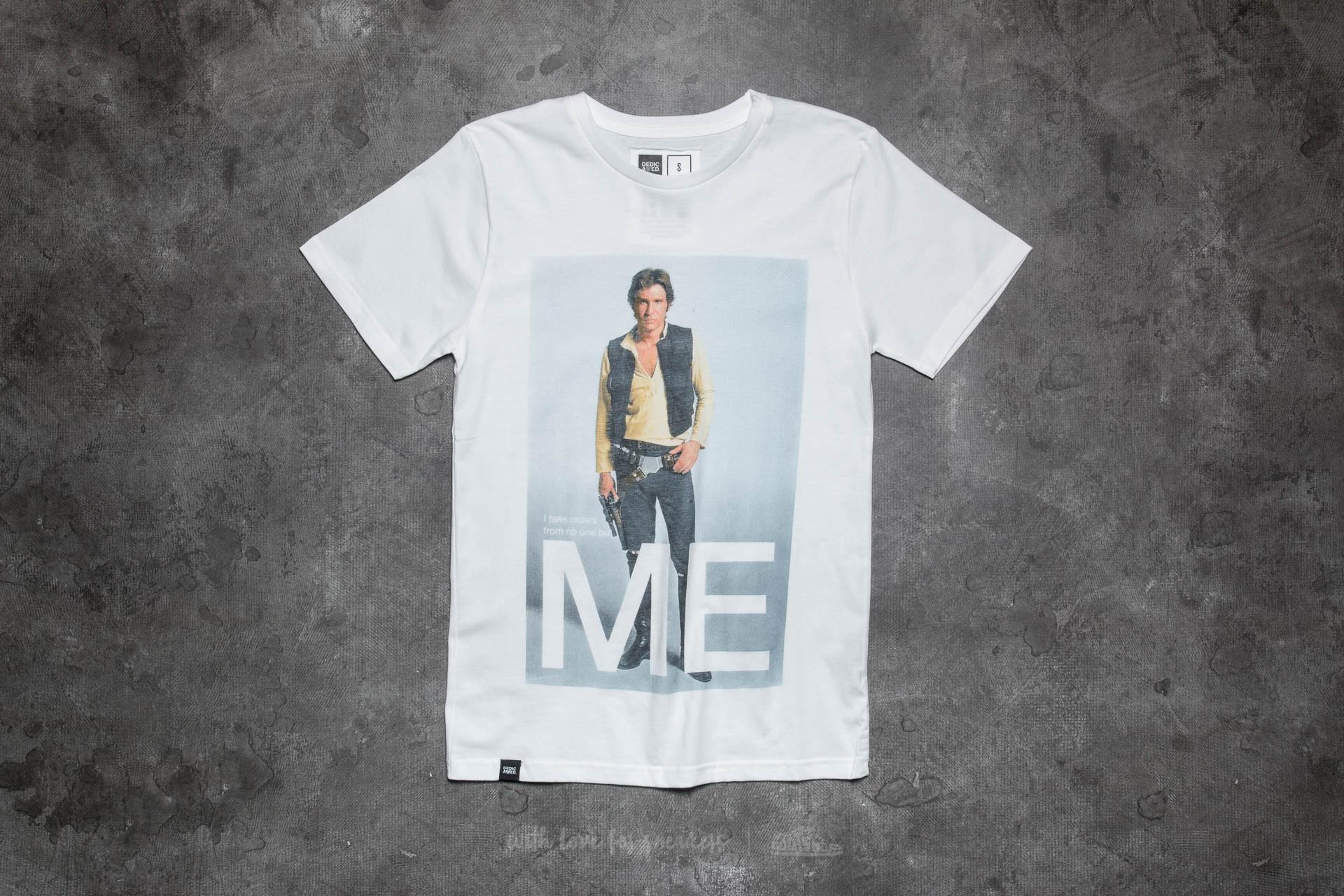 Dedicated x Star Wars Han Solo Me T-Shirt White - 10938