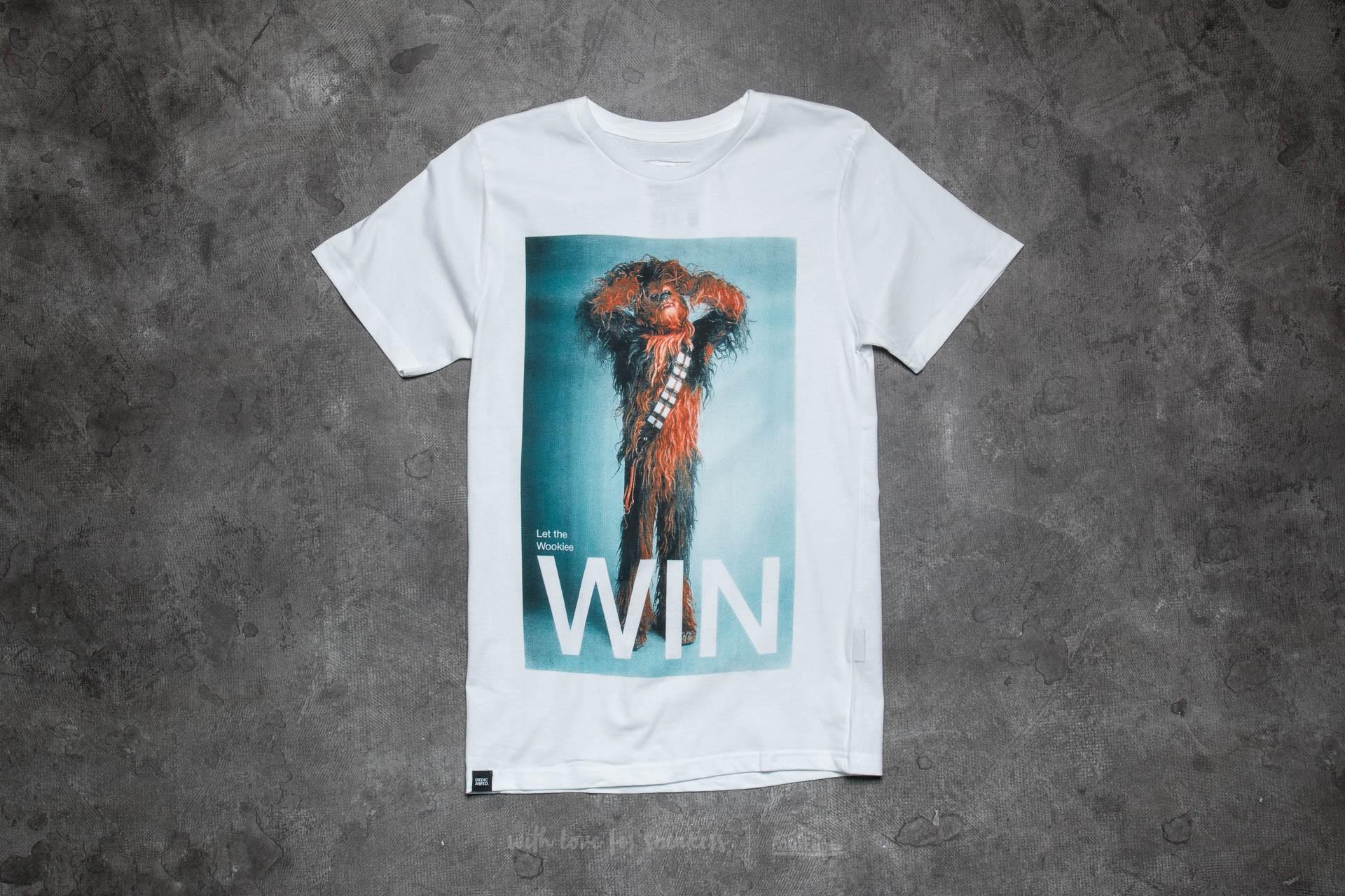 Dedicated x Star Wars Chewbacca Win T-Shirt White - 10949