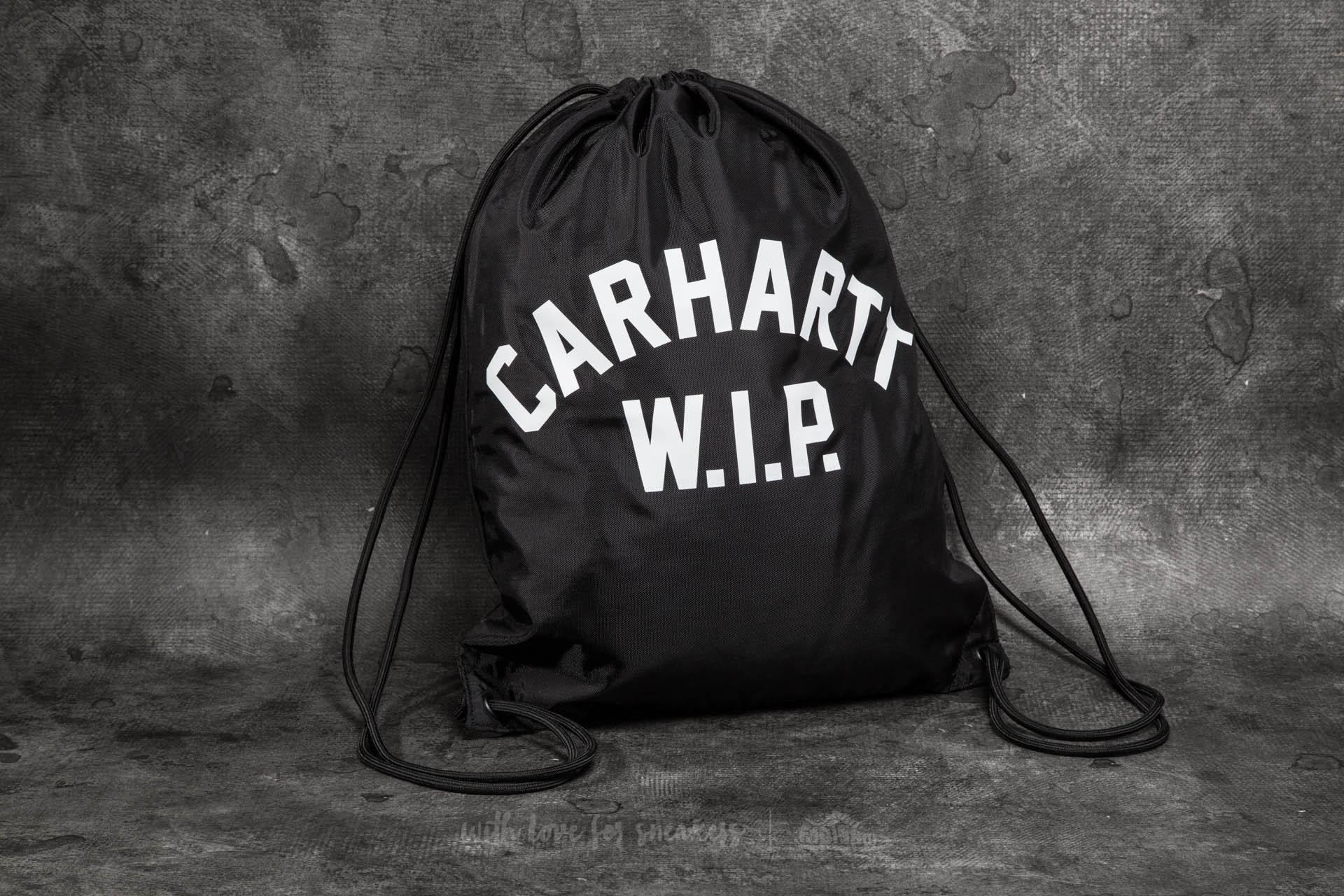 Carhartt WIP USS Script Bag Black/ White - 10968