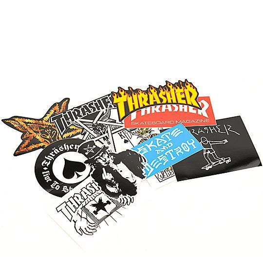 Thrasher Sticker 10 Pack Mix - 11417