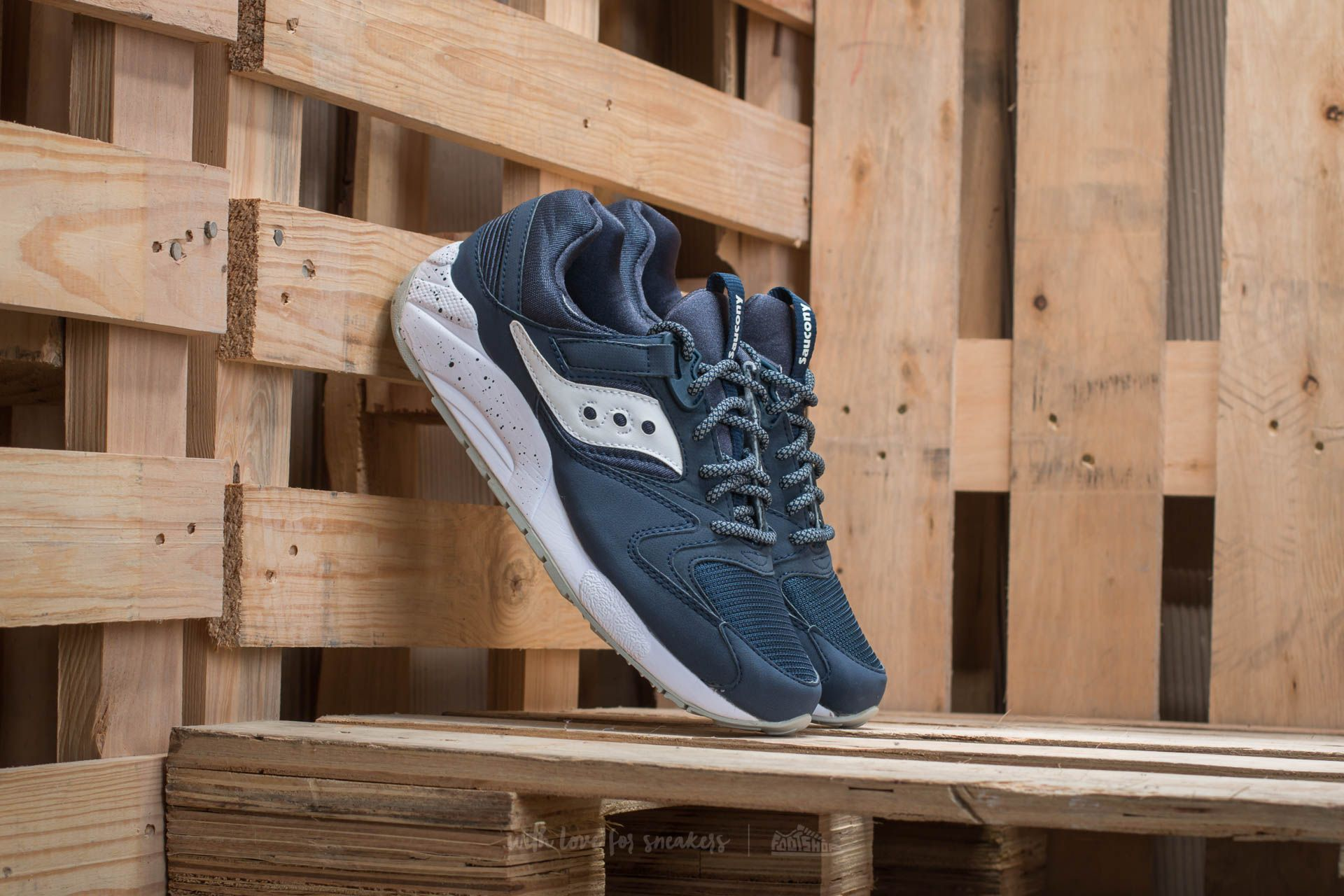 Saucony Grid 9000 Navy/ White - 11420