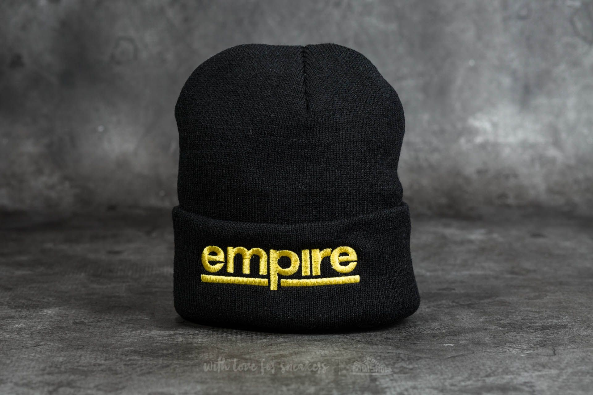 Footshop x YZO Beanie Black/ Yellow - 11805