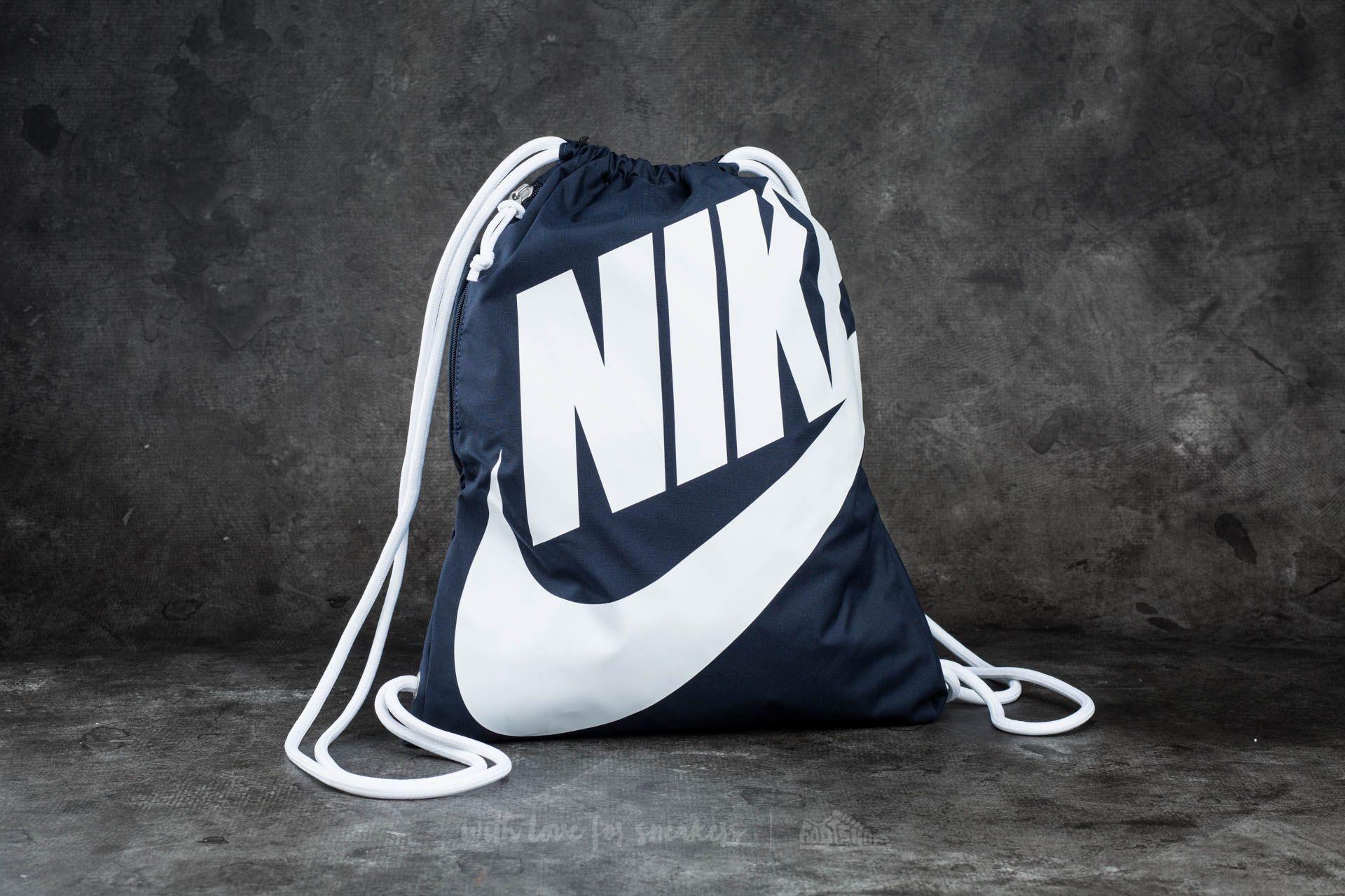 Nike Sportswear Heritage Gymsack Blue/ White/ White - 11840