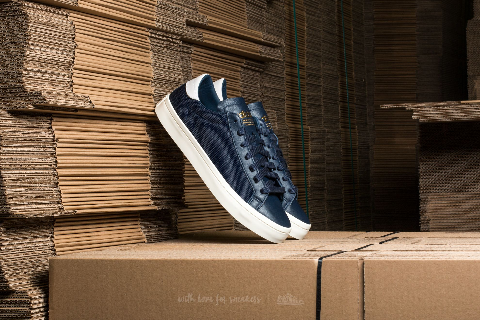 adidas Court Vantage Collegiate Navy/ Collegiate Navy/ Ftw White - 12121