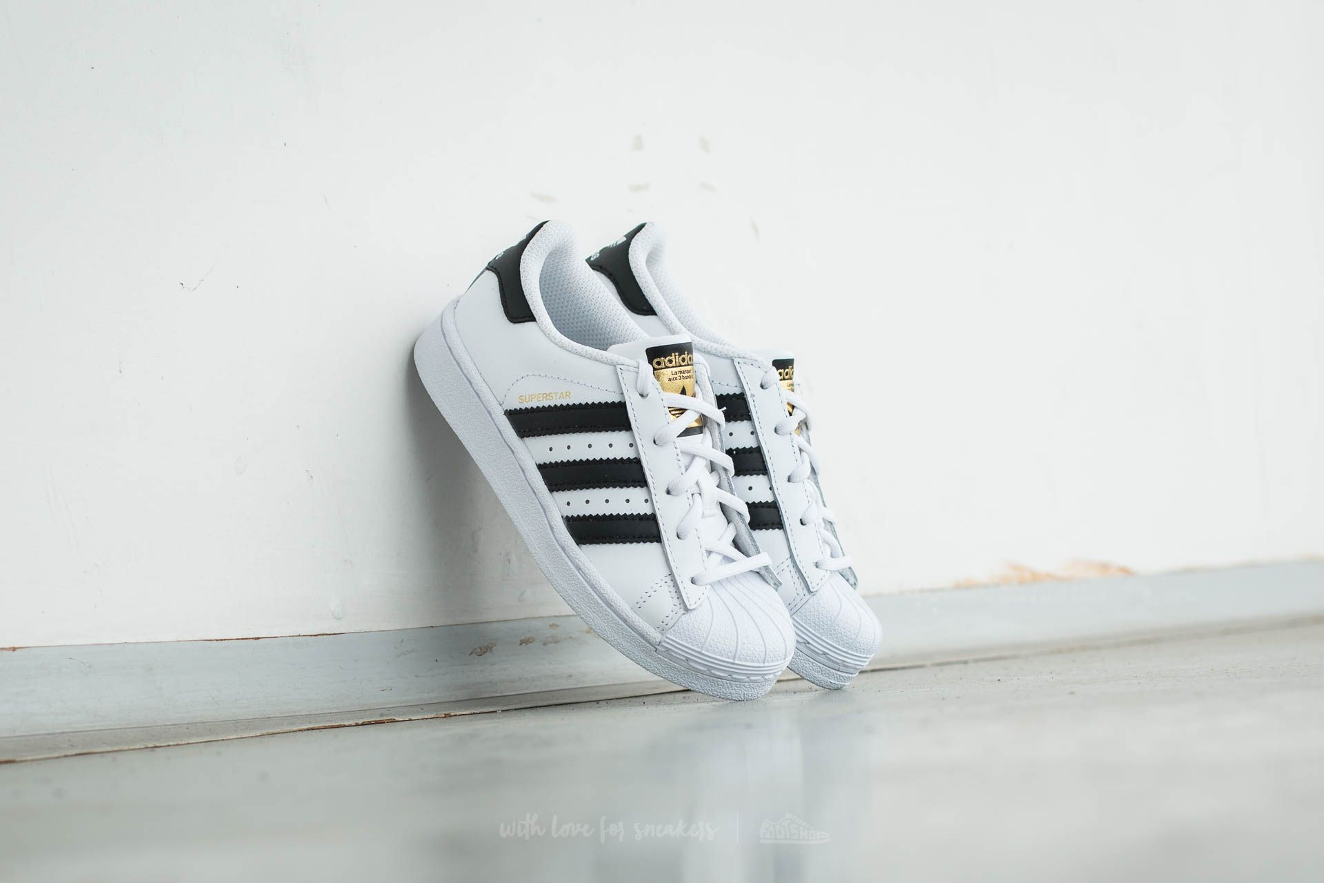 adidas Superstar Foundation C Ftw White/ Core Black/ Ftw White - 11930