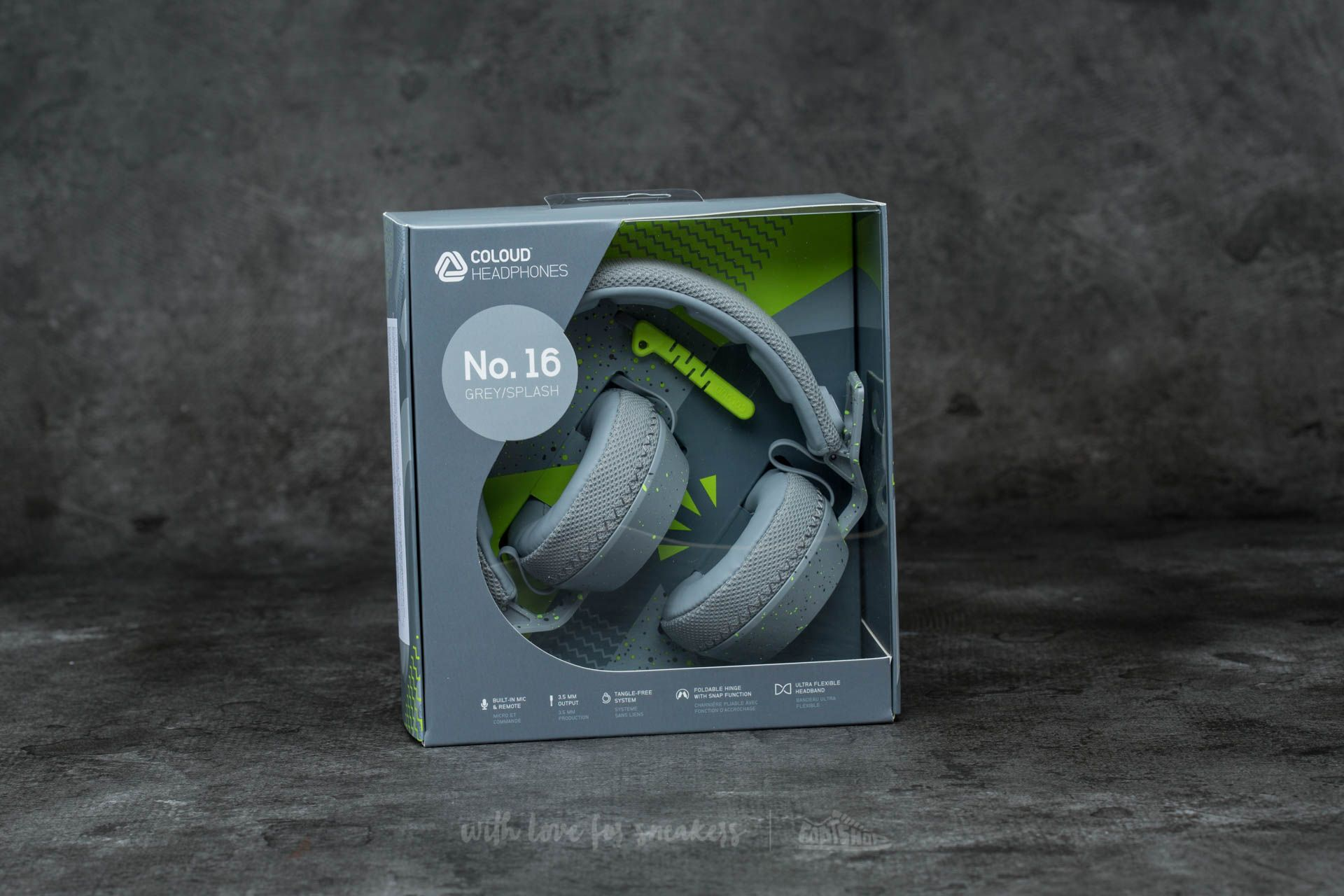 Coloud No. 16 Headphones Grey-Splash - 12247