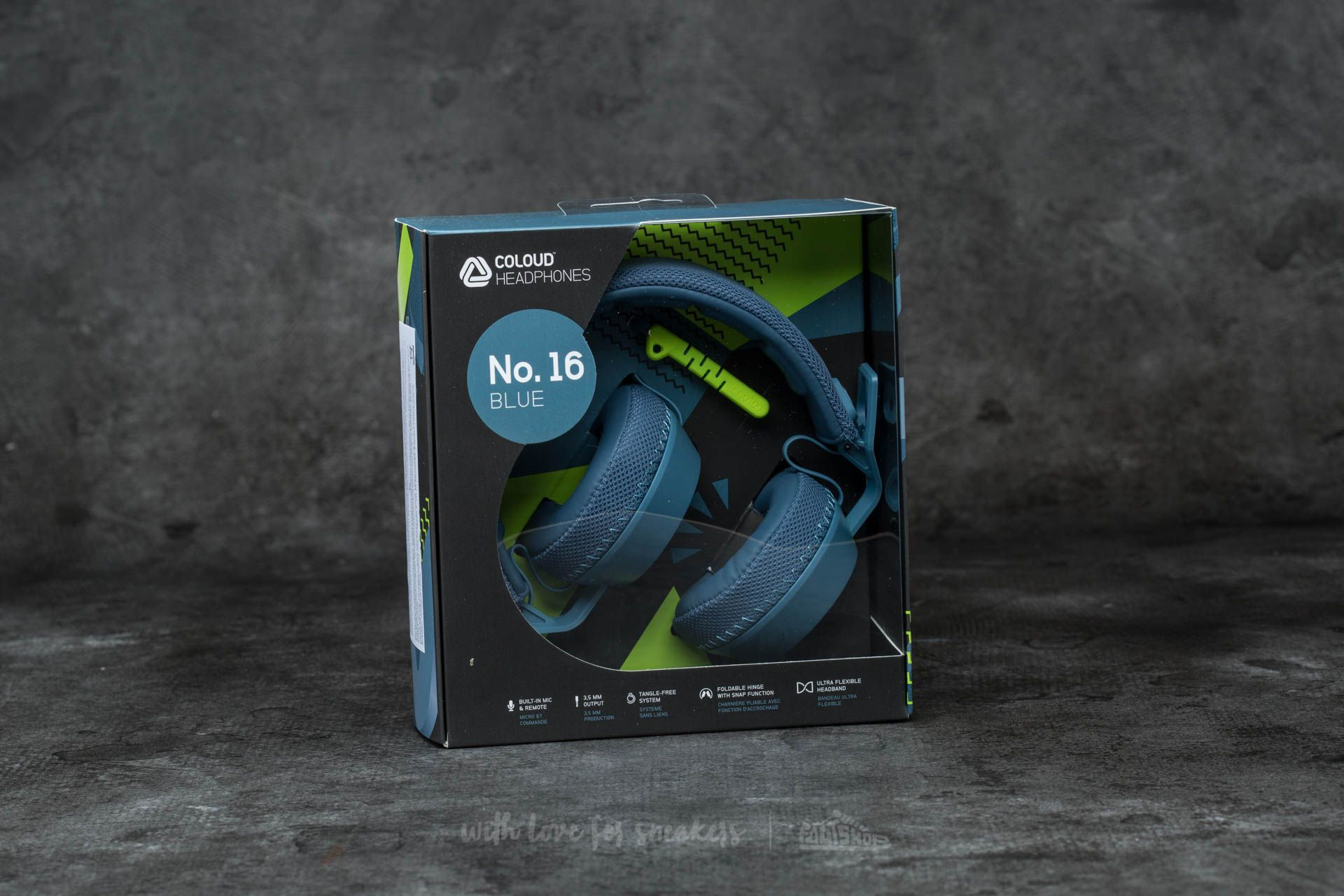 Coloud No. 16 Headphones Blue-Yellow - 12249