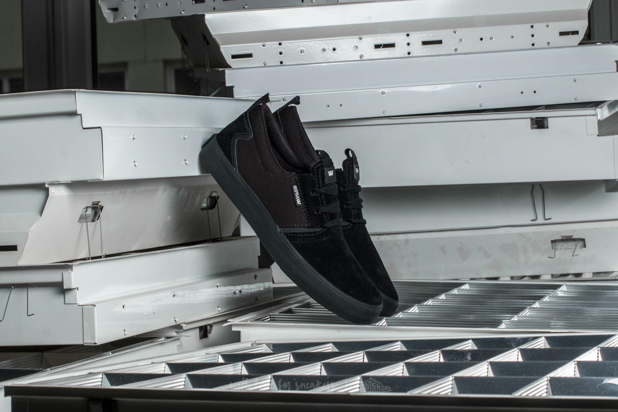 Supra Flow Black/ Black - 12264
