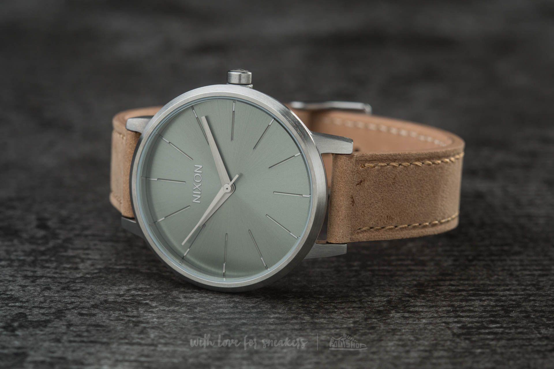 Nixon Kensington Leather Saddle/ Sage - 11927