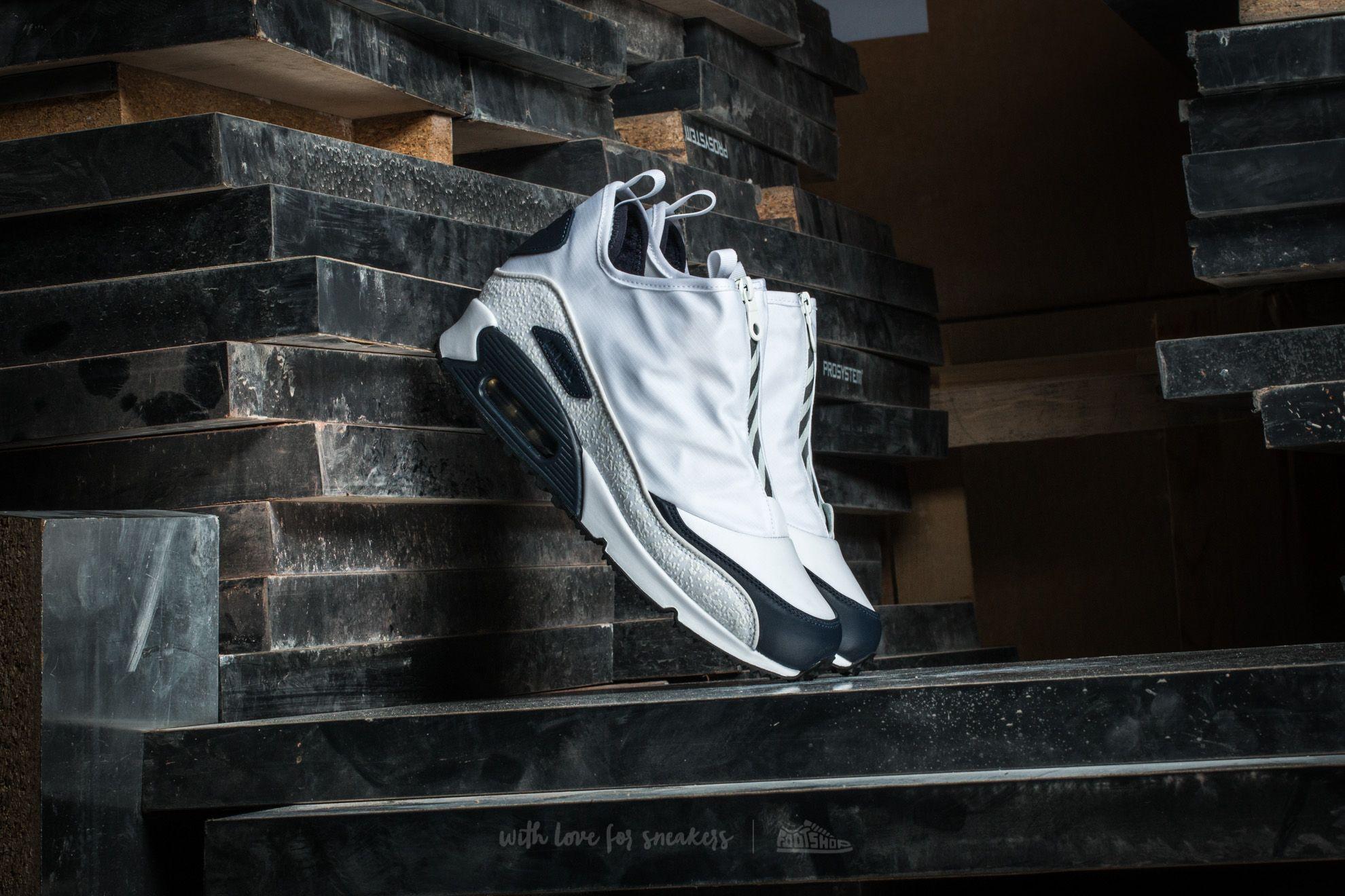 Nike Air Max 90 Utility White/ White-Metallic Gold - 12626