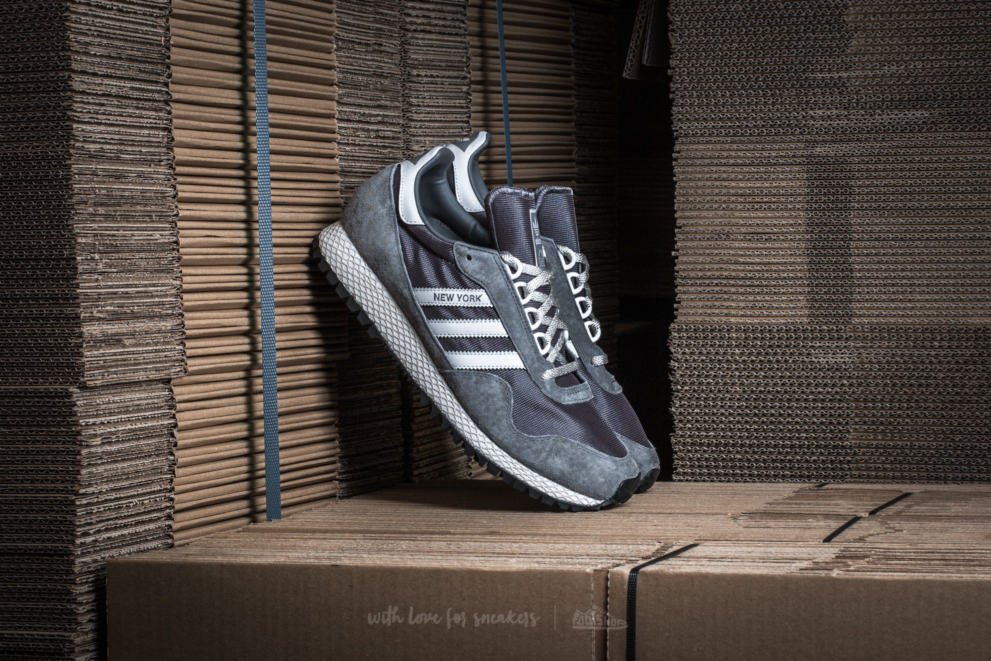 adidas New York Color Granite/ Clear Grey/ Bliss - 12836