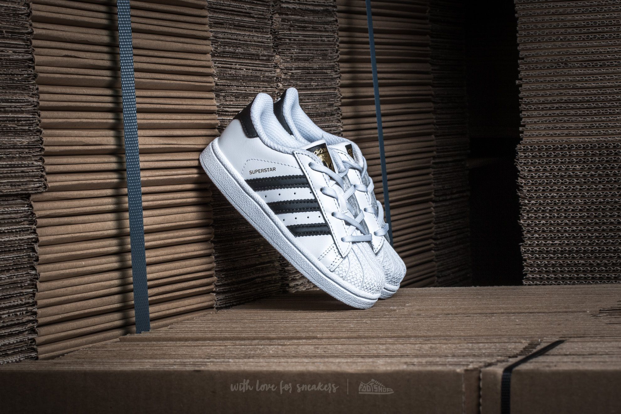 adidas Superstar I Ftw White/ Core Black/ Ftw White - 12853