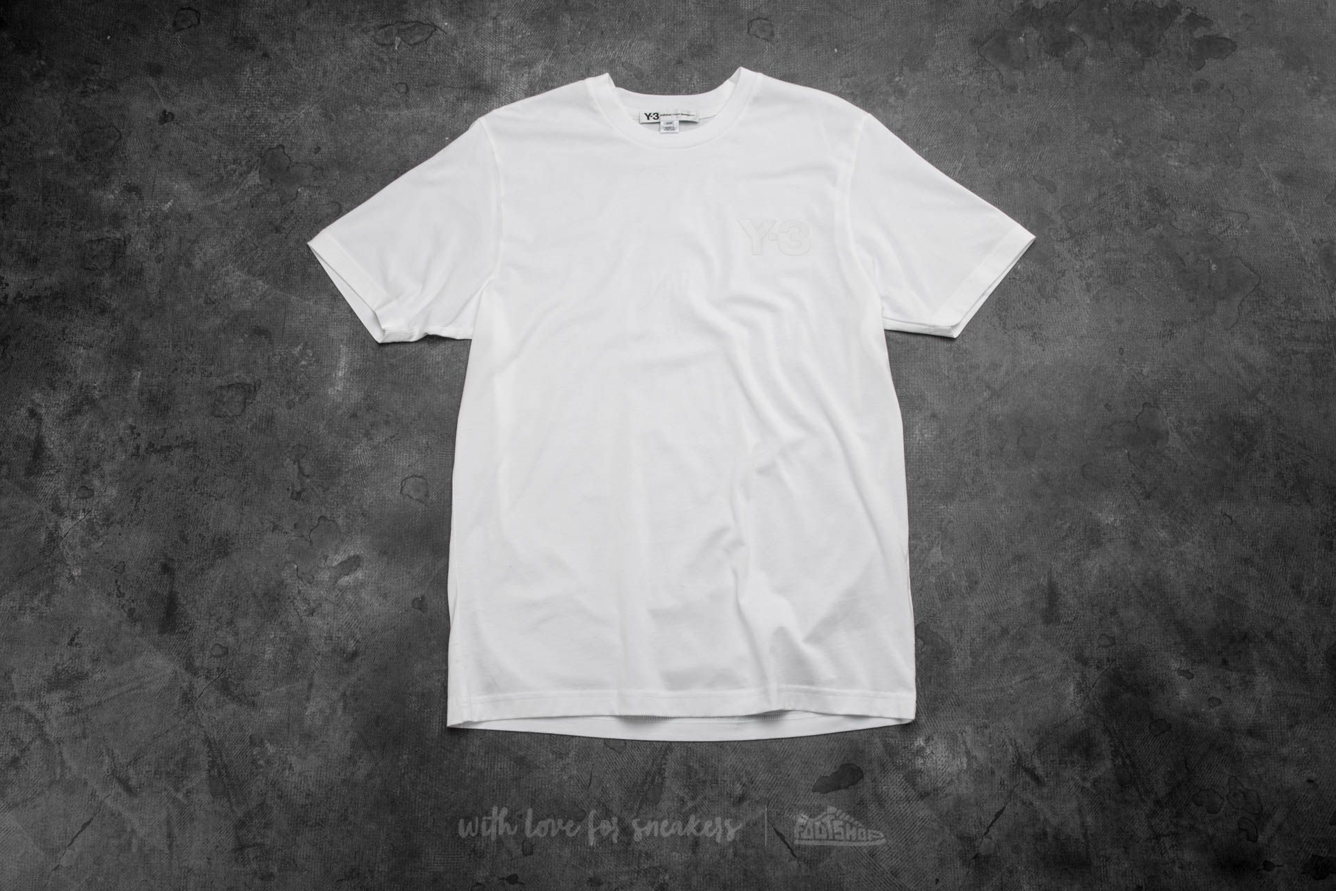 Y-3 Classic Short Sleeve Tee White - 12832