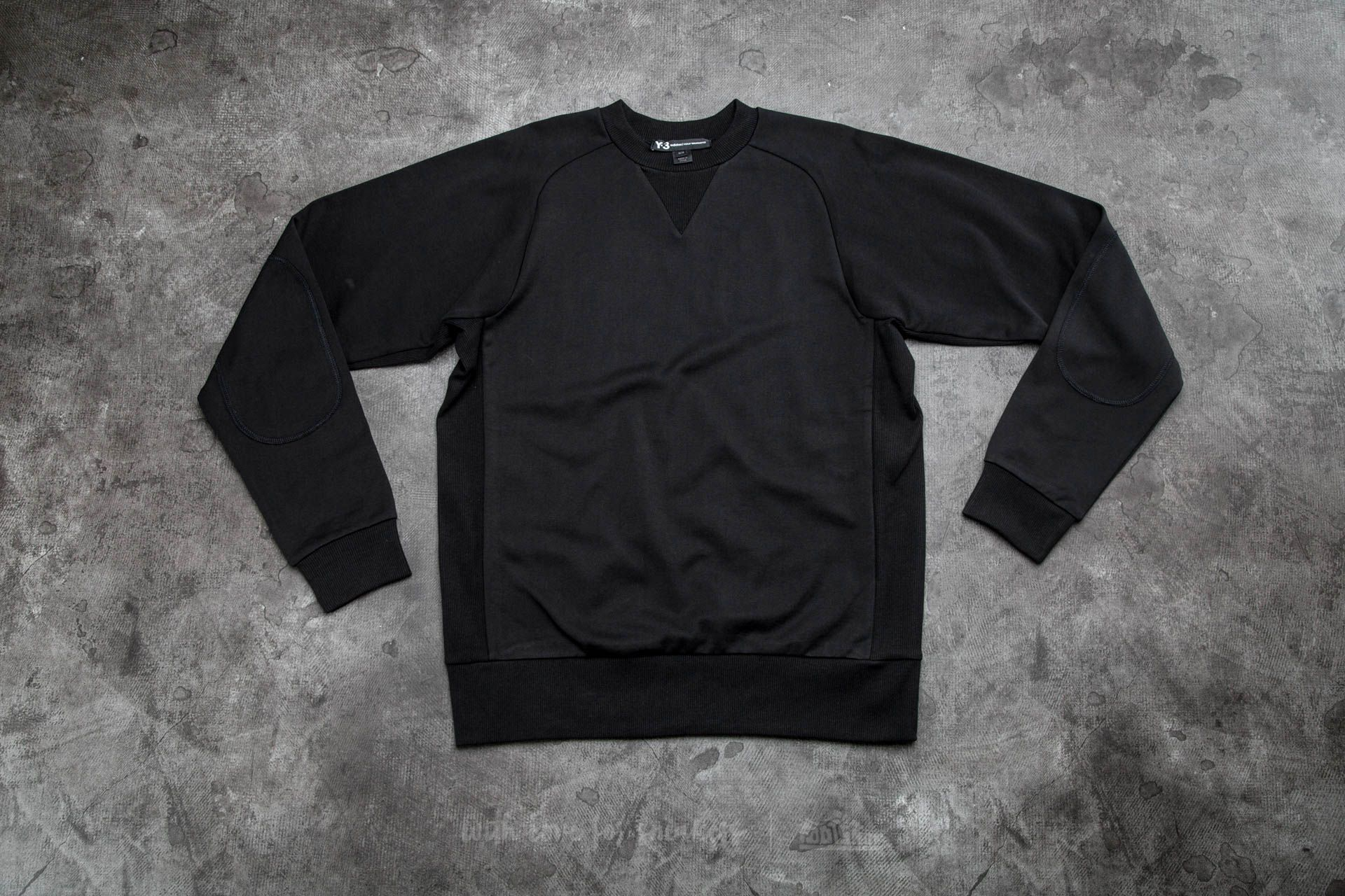Y-3 Classic Sweat Top Black - 12837