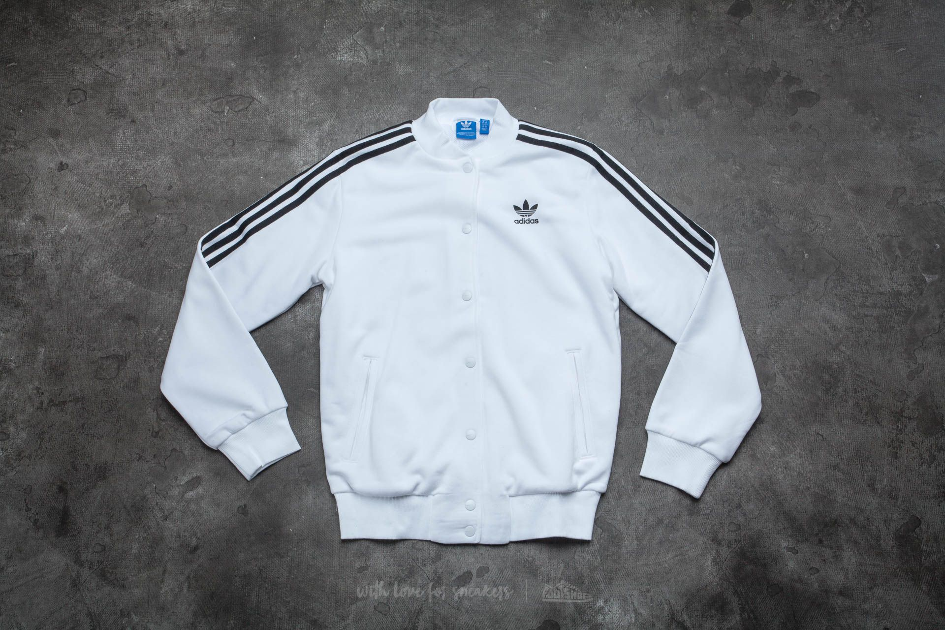 adidas 3 Stripes Bomber White - 12766