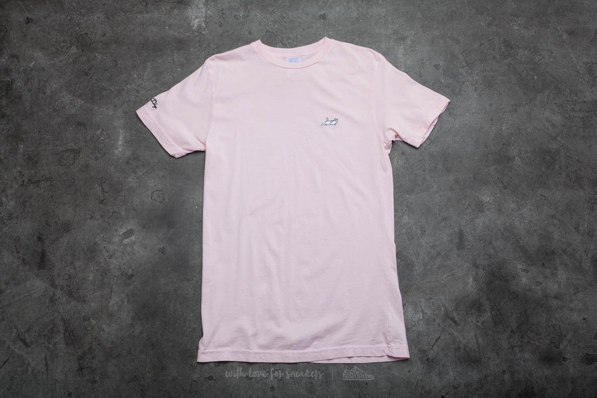 RIPNDIP Castanza Tee Pink - 12929