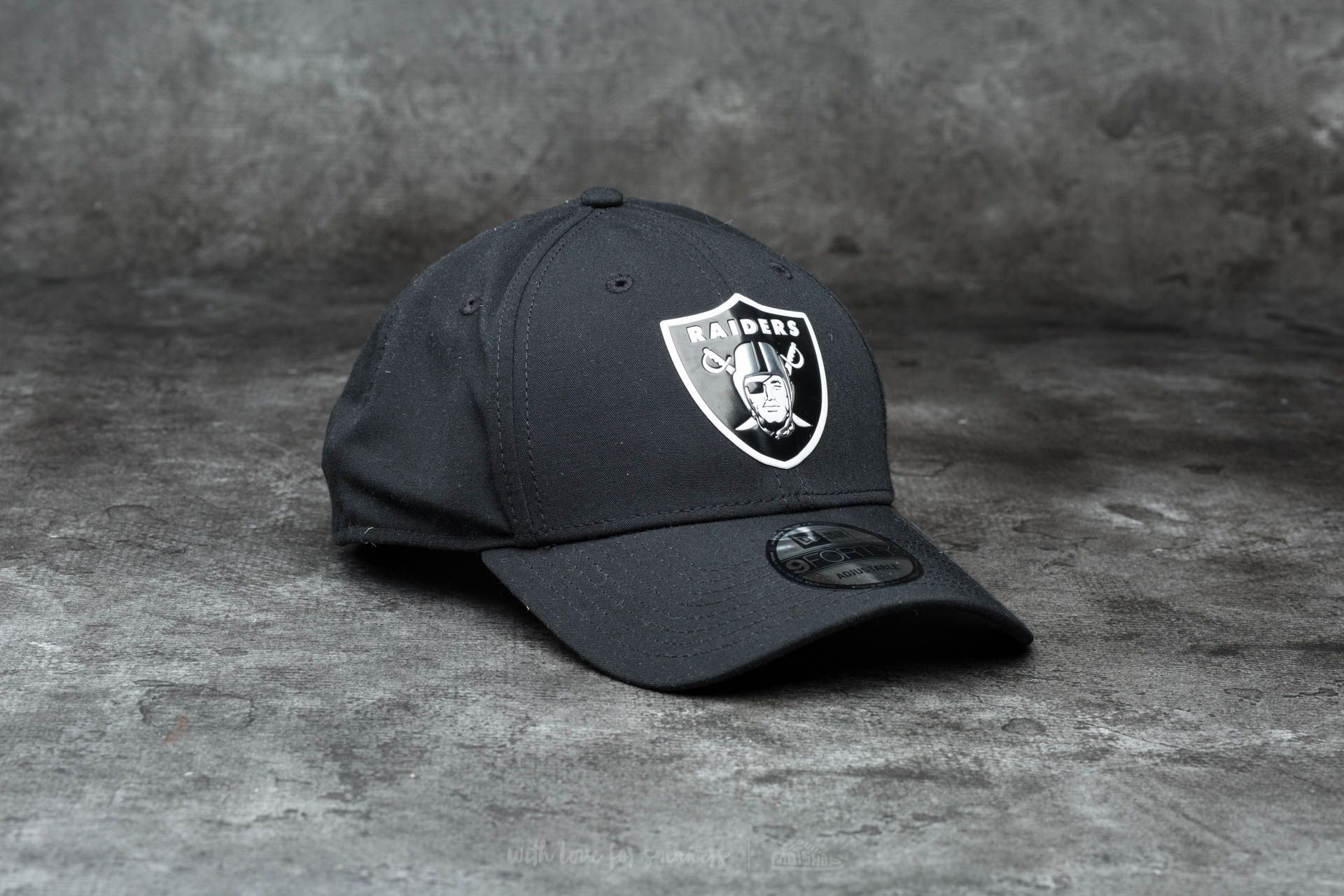 New Era 9Forty Poly Weld Oakland Raiders Black - 12484