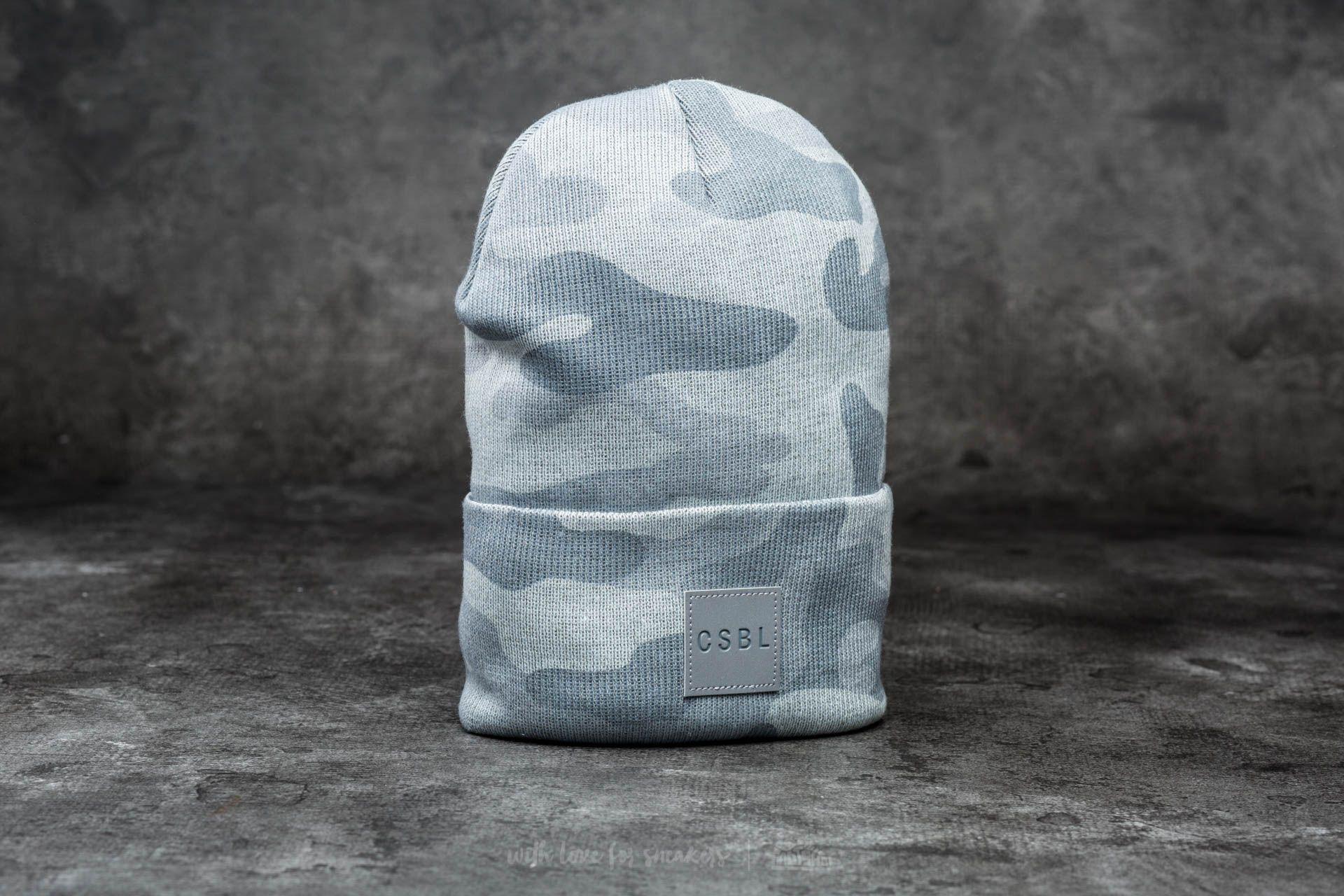 Cayler & Sons CSBL Millennivm Beanie Stone Camo/ Reflective Grey - 12499