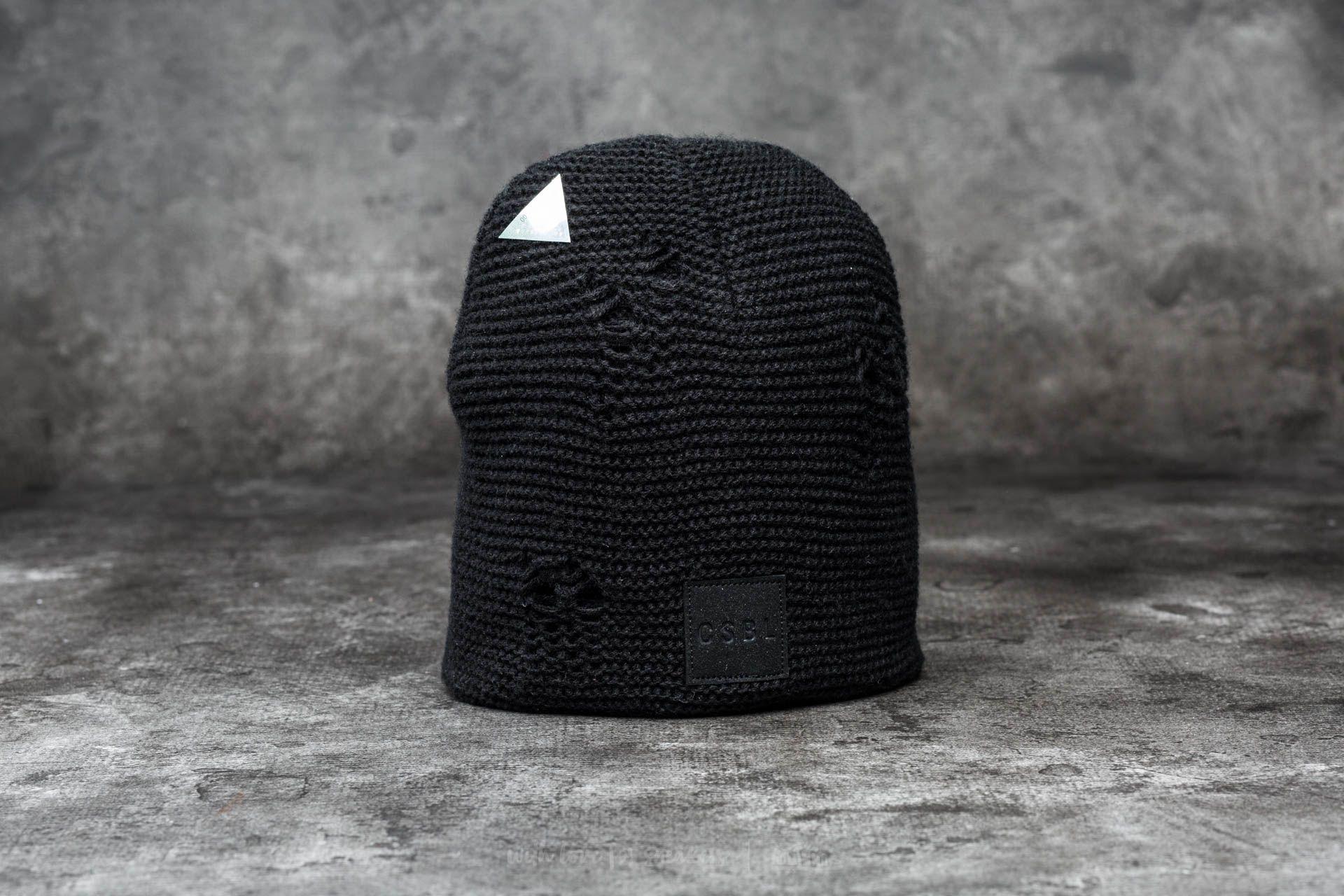 Cayler & Sons CSBL Operator Beanie Black Knit/ Black - 12505