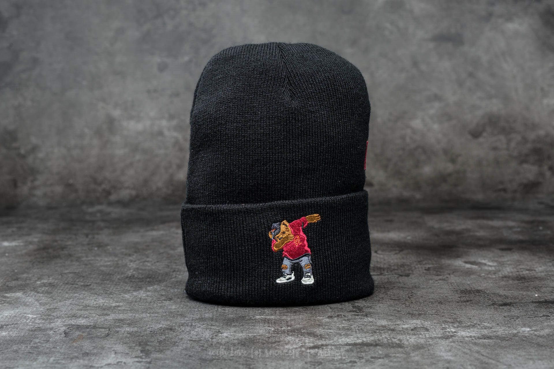 Cayler & Sons WL Dabbin' Crew Old School Beanie Black/ Multicolor - 12502