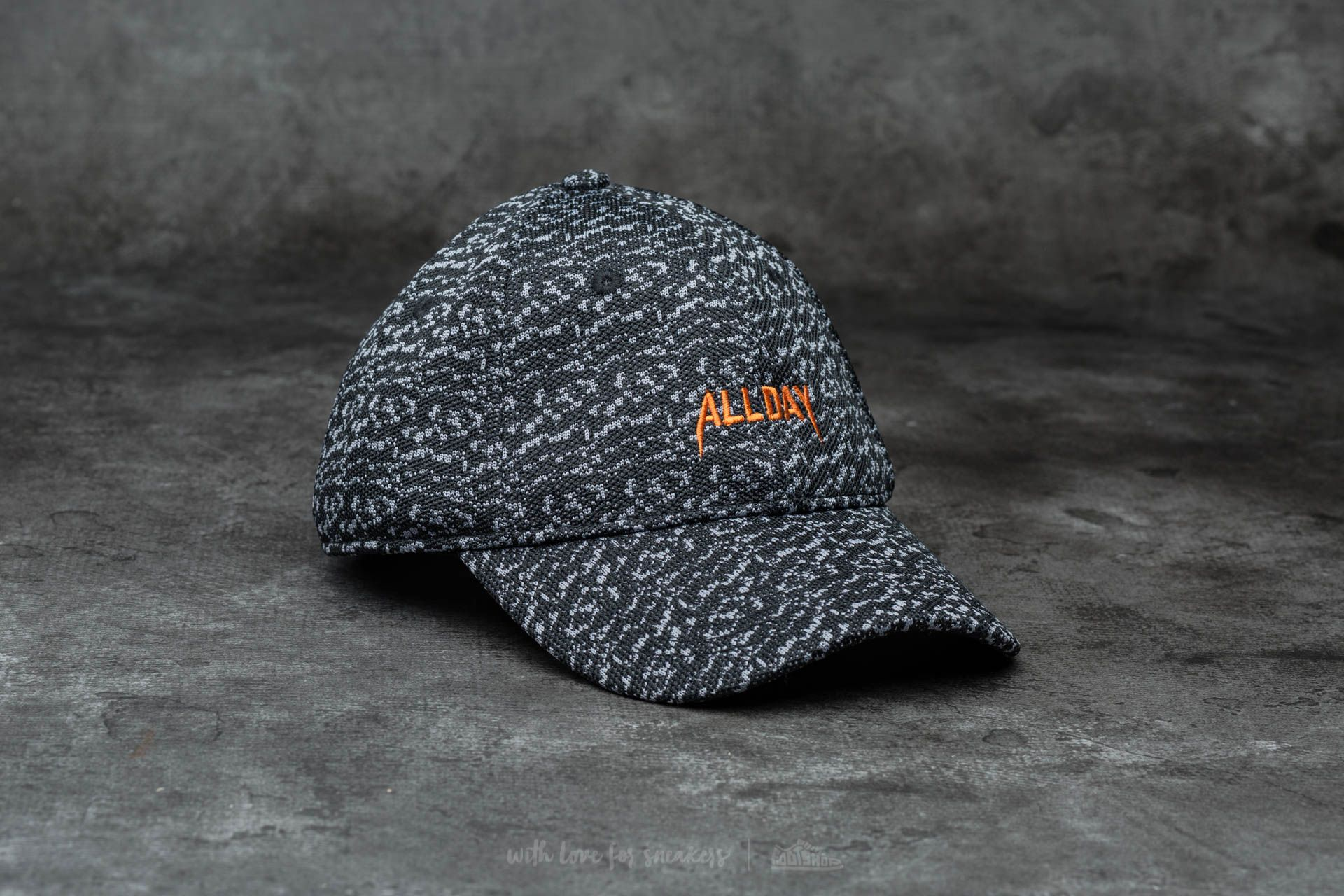 Cayler & Sons WL All Day Curved Cap Marauder Knit/ Orange - 12498