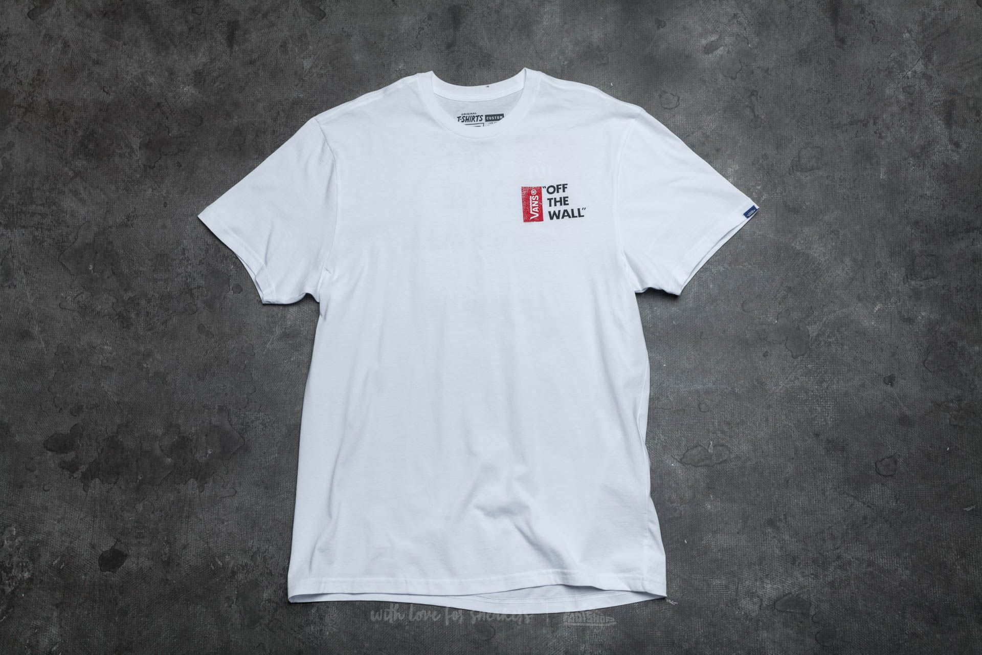 Vans Off The Wall III Tee White - 13505
