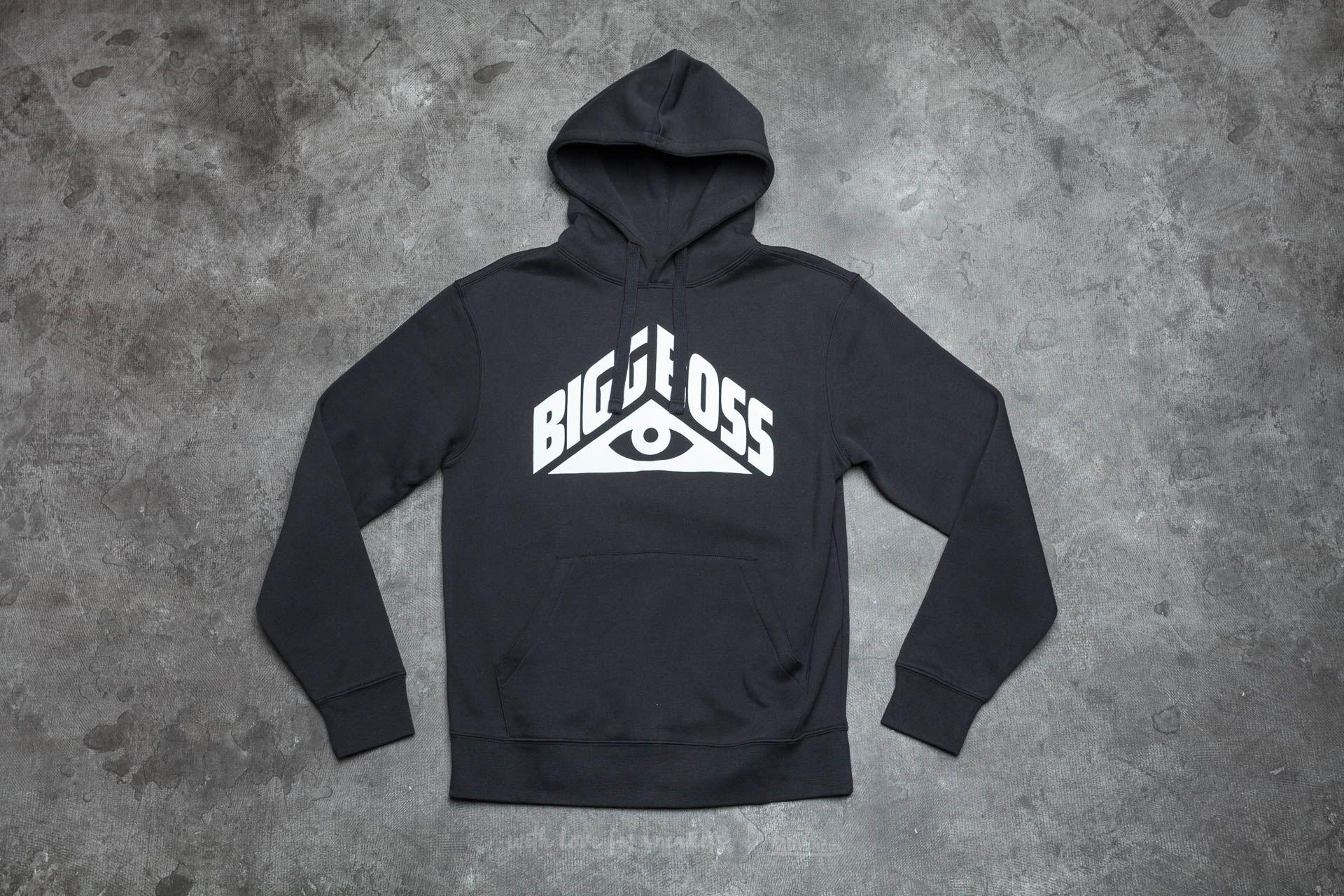BIGG BOSS Eye Hoodie Black - 13581