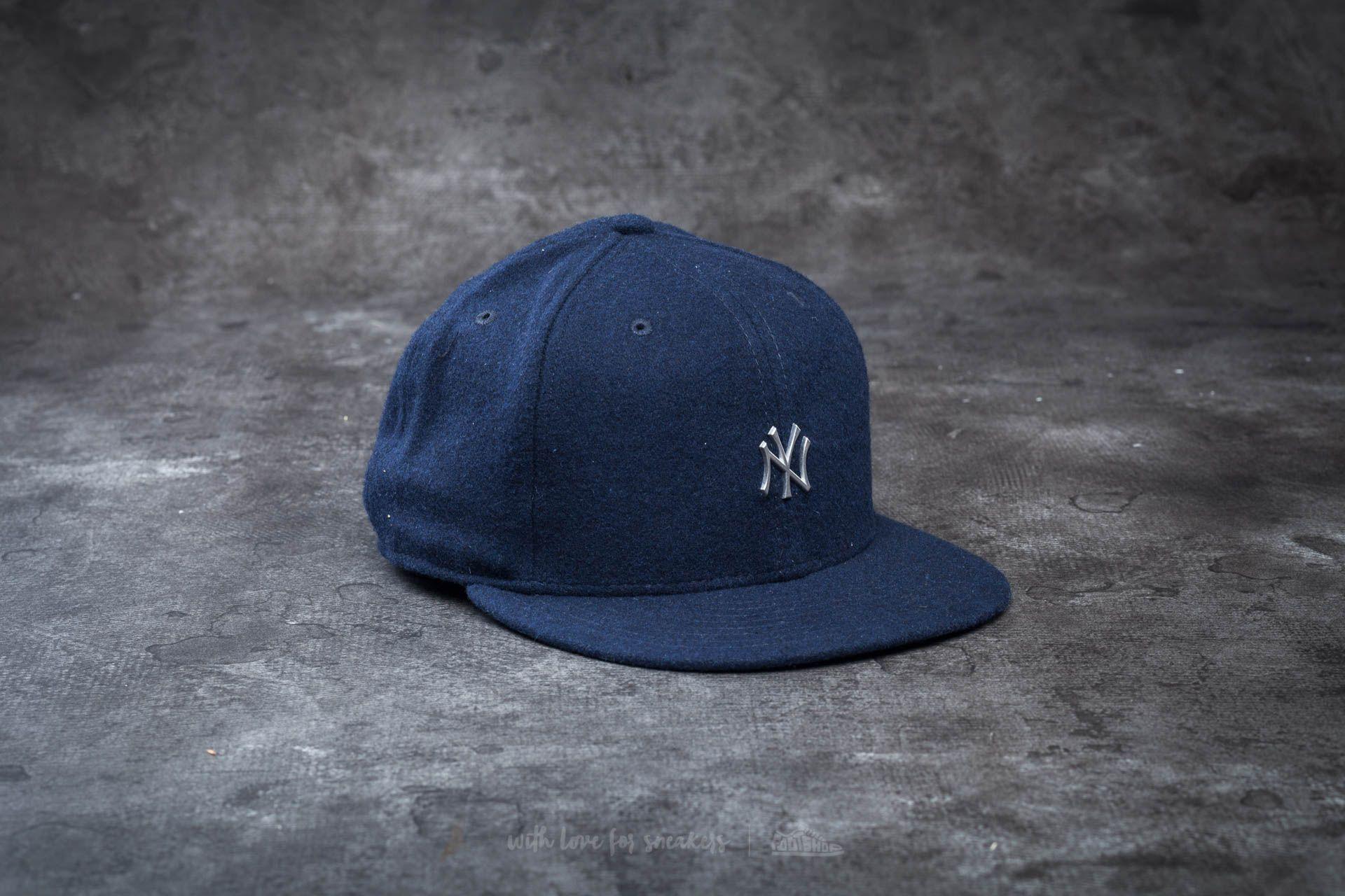 New Era 59Fifty Melton Metal Logo New York Yankees Navy - 13819