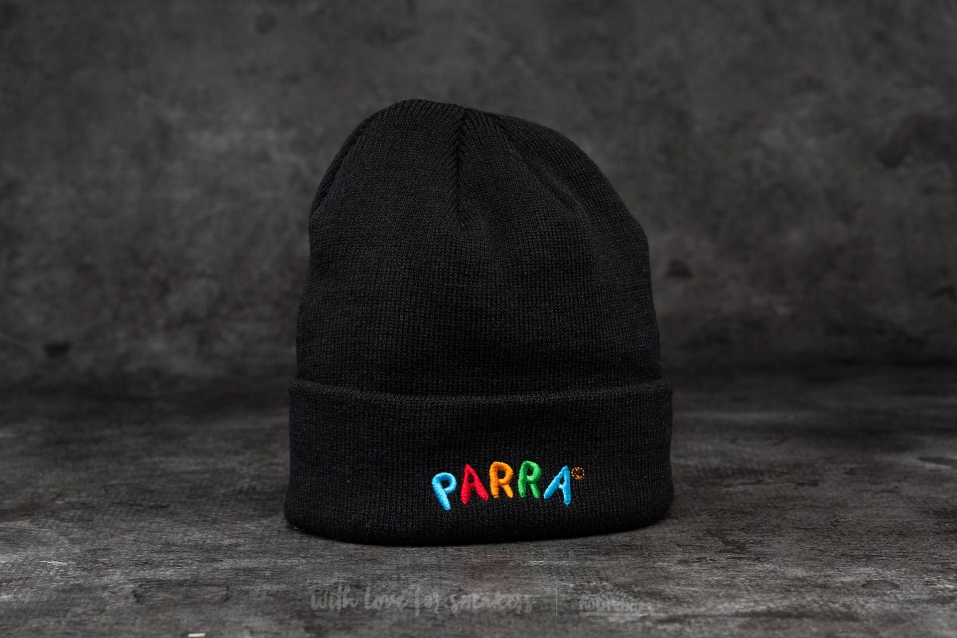 by Parra Toy Logo Beanie Black - 13690