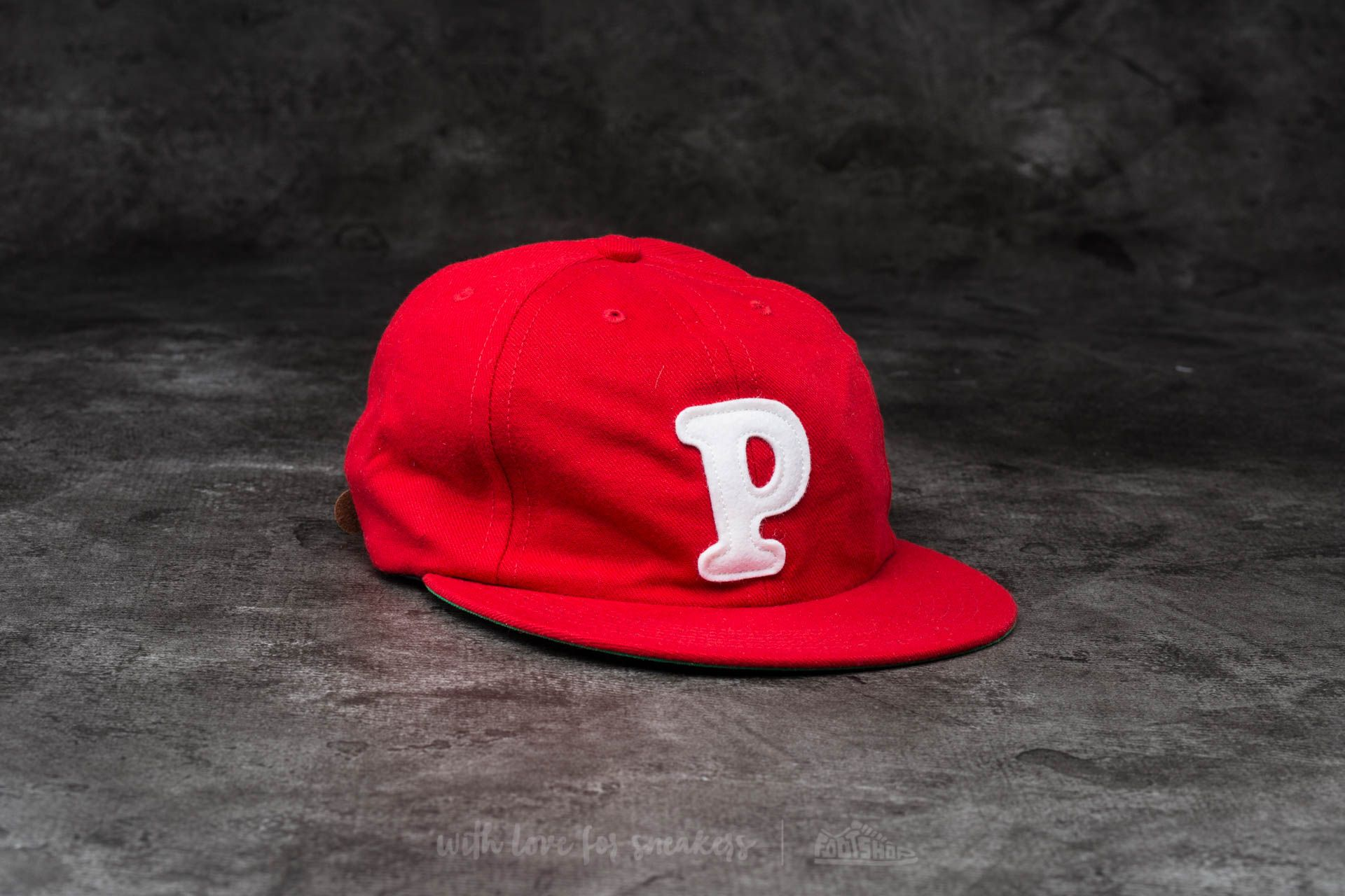 by Parra College P 6 Panel Hat Red - 13692