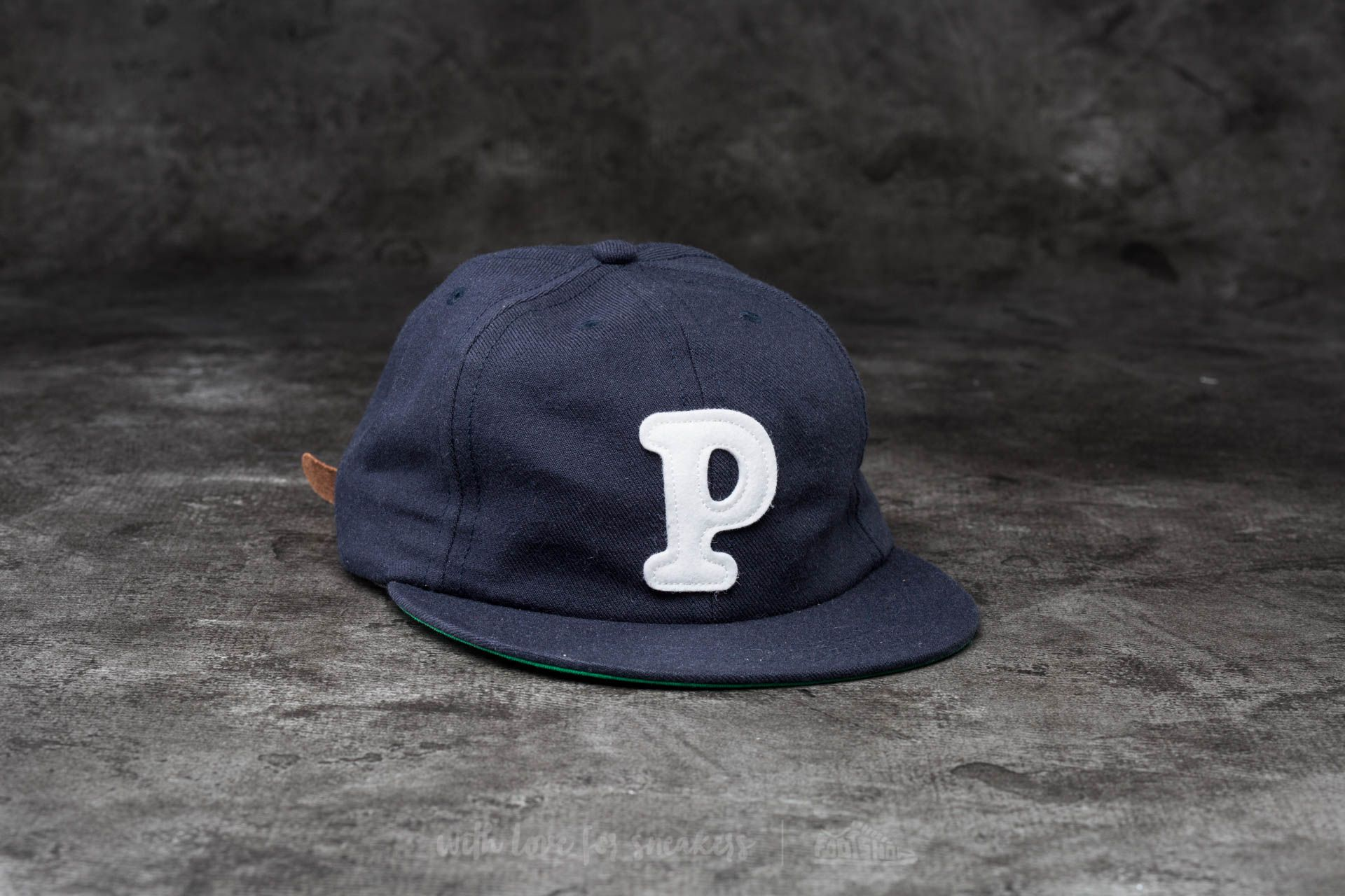 by Parra College P 6 Panel Hat Navy Blue - 13693